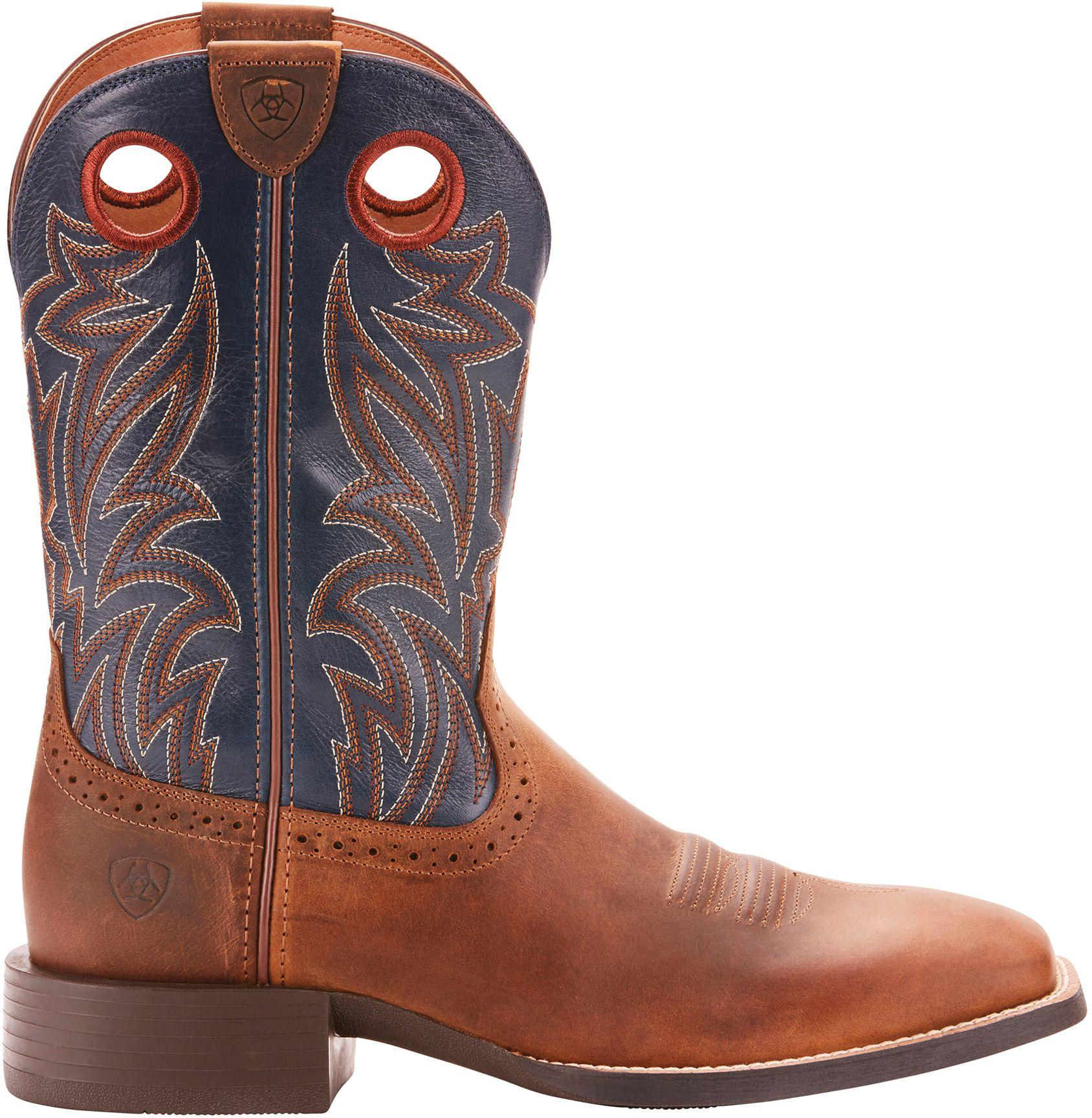 69a8e1613b2 Lyst - Ariat Sport Sidebet Dist Work Boots in Brown for Men