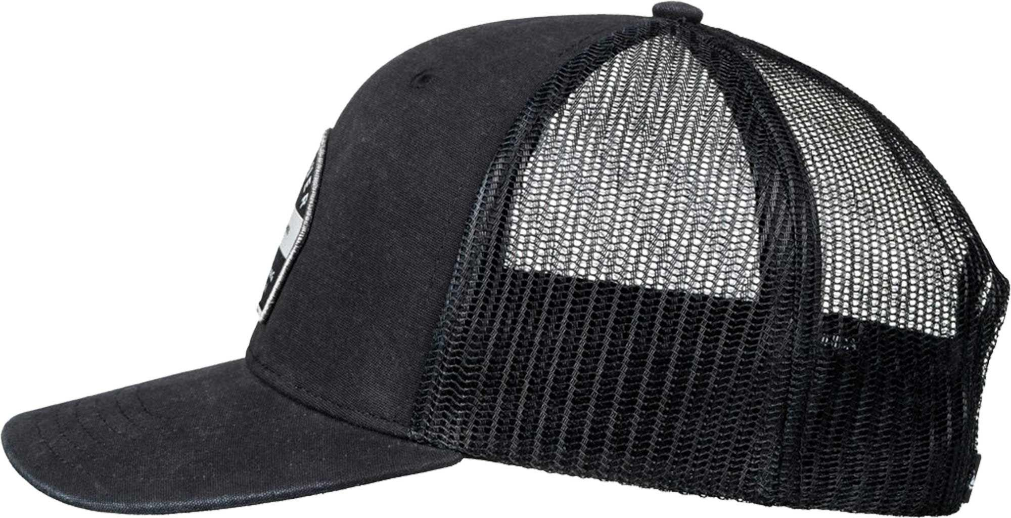 Lyst - Quiksilver Quicksilver Silver Lining Trucker Hat in Black for Men 0d3ca75cf07