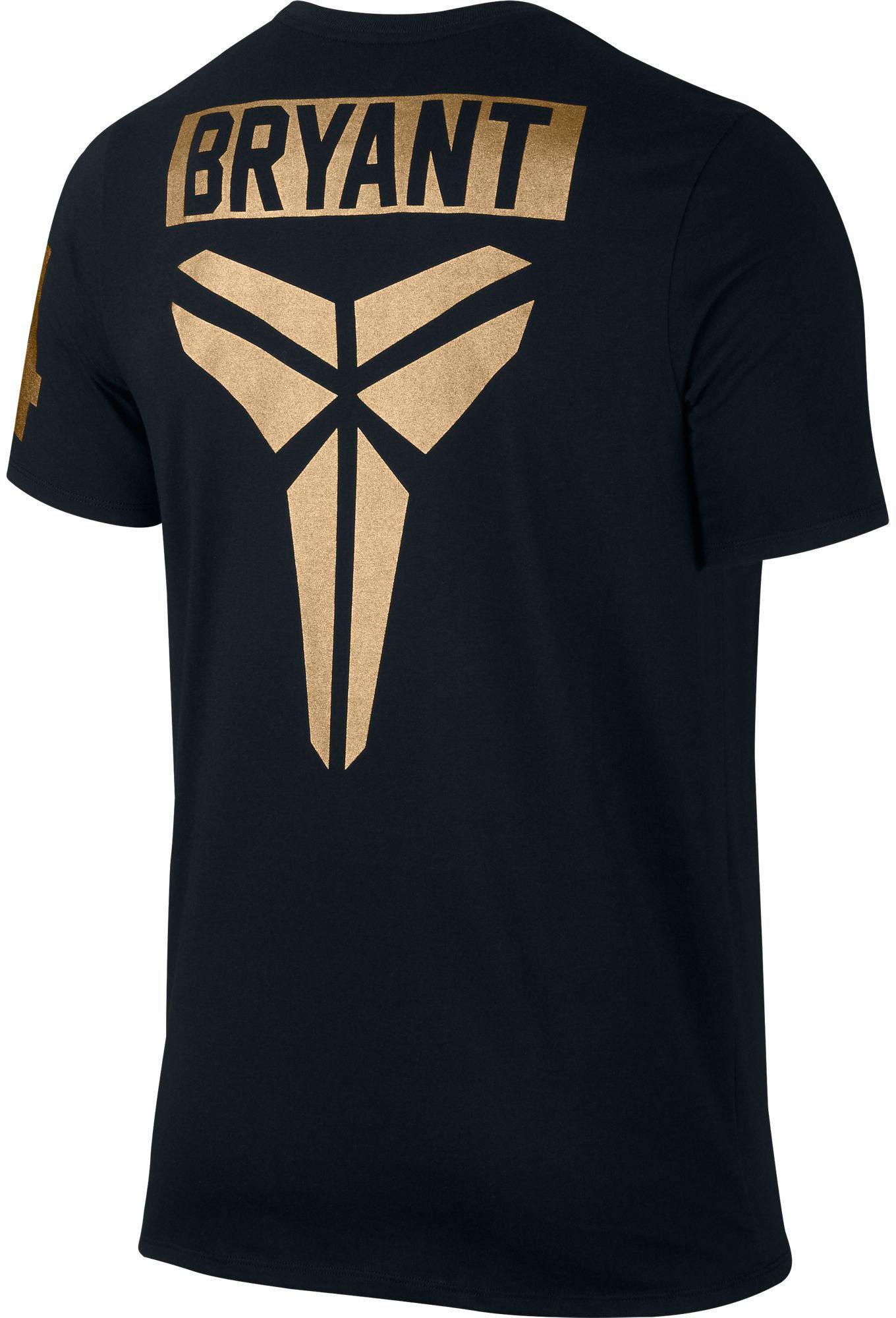 cd377d034937 Lyst - Nike Kobe 24 Sheath Graphic T-shirt in Black for Men