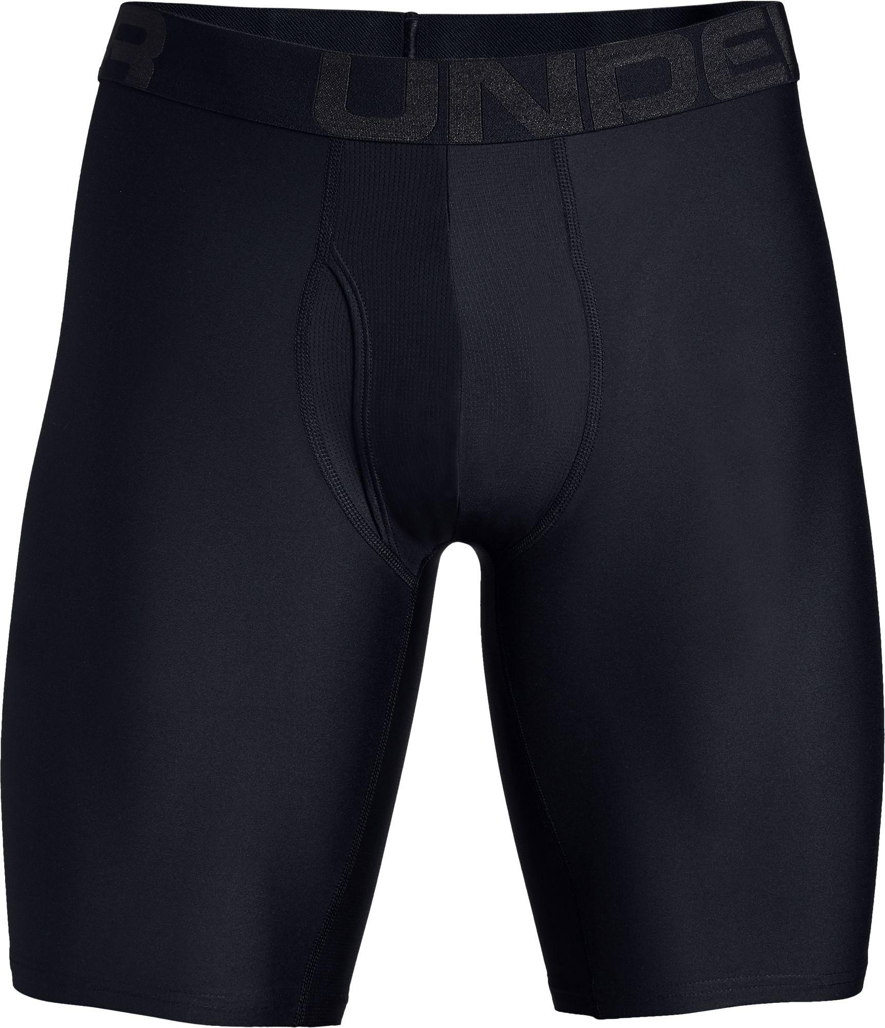 "2-Pack Under Armour 2019 Mens Tech 6/"" Soft Stretch BoxerJock Underwear Navy"