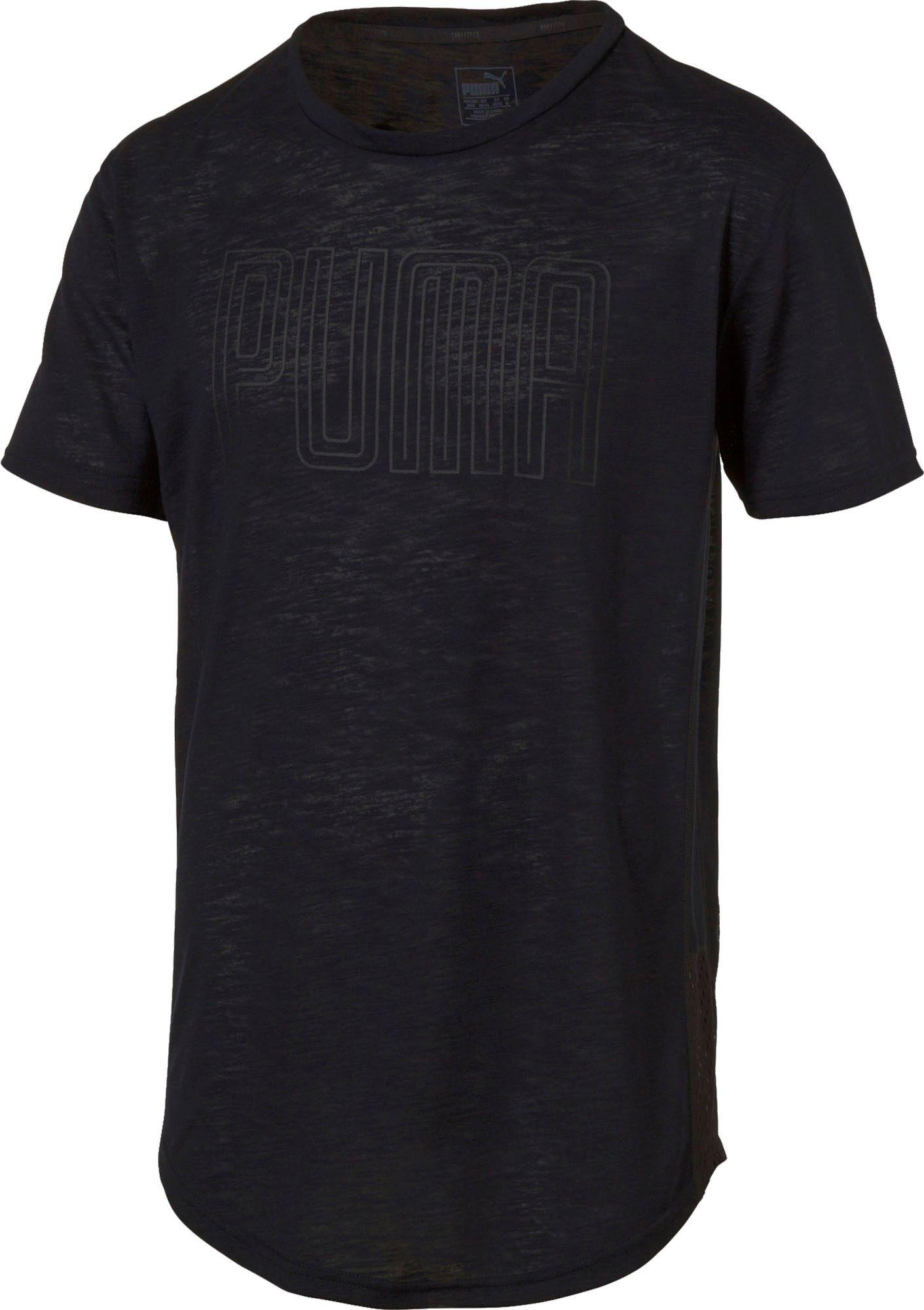 00e2880c4 Lyst - Puma Dri-release Novelty Graphic T-shirt in Black for Men