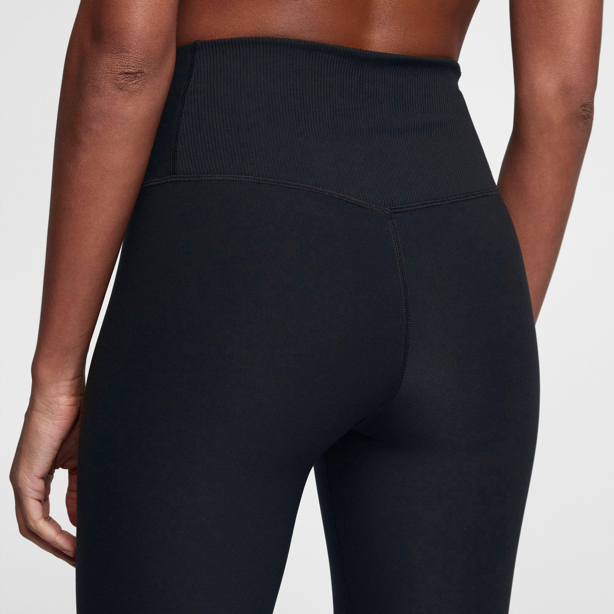 881ed9f3 Nike Black Sculpt Hyper Crop Leggings