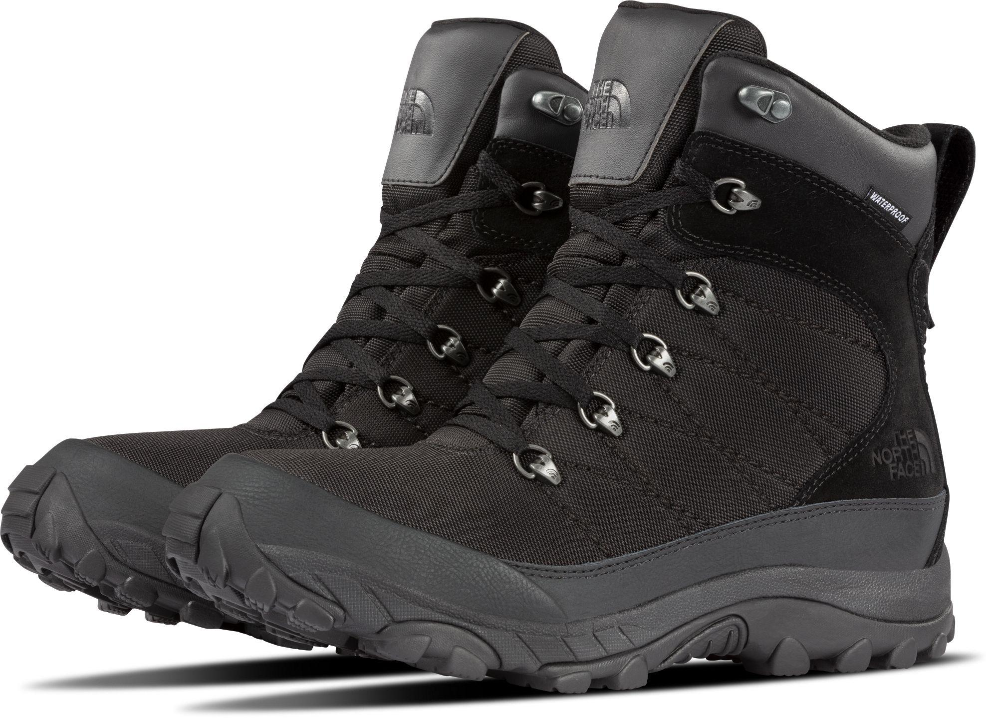 853947e97 The North Face Black Chilkat Nylon Waterproof Winter Boots for men