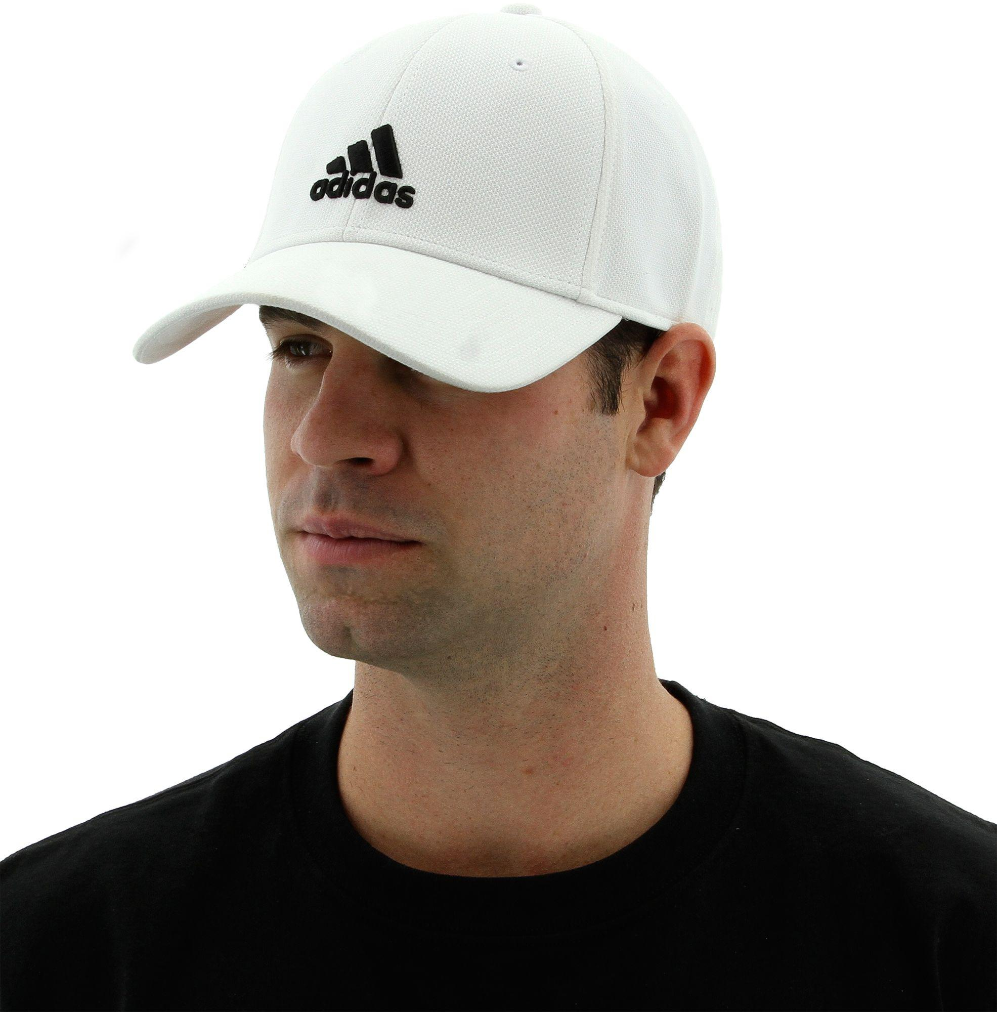 Lyst - adidas Rucker Stretch Fit Cap in White for Men f97fa674622a