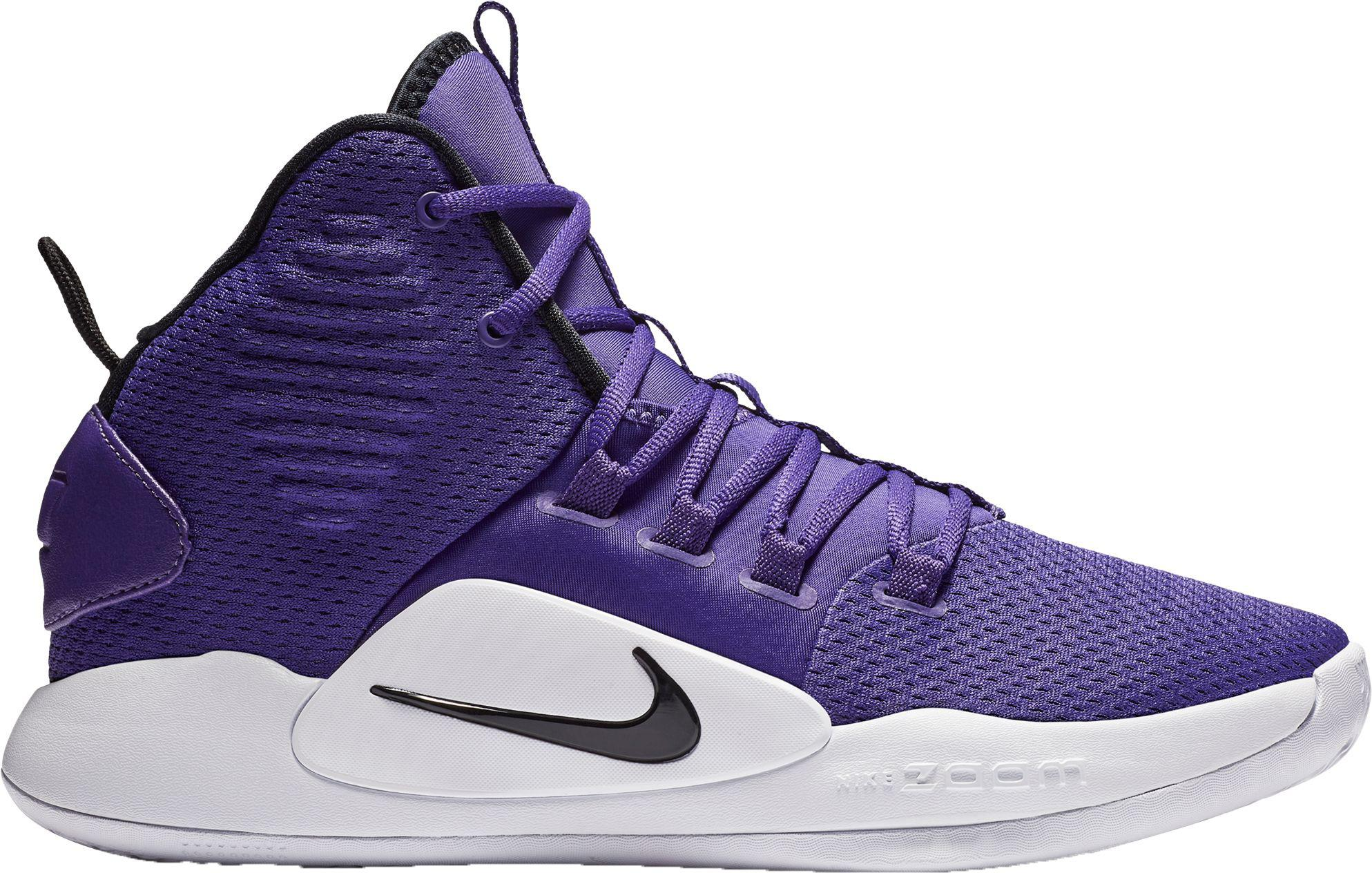 newest collection 52a26 ae1b5 Men's Purple Hyperdunk X Mid Tb Basketball Shoes