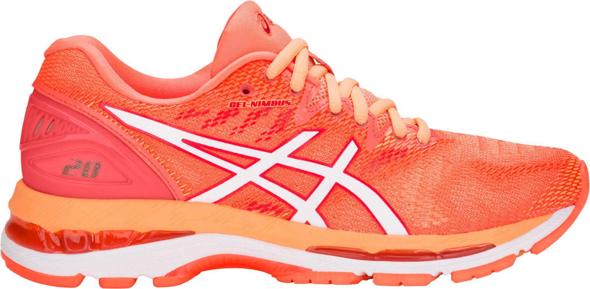 de676a4af8a Asics Orange Gel-nimbus 20 Running Shoes