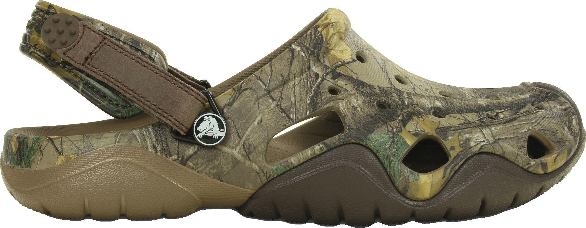 bada53ea08603 Lyst - Crocs™ Swiftwater Realtree Xtra Clogs in Green for Men