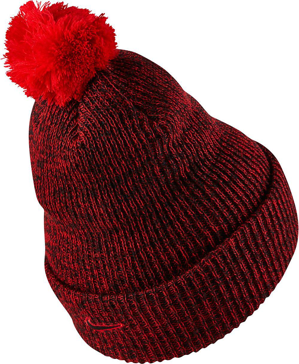 394efd9721fc4 Lyst - Nike Lebron Xii Knit Hat in Red