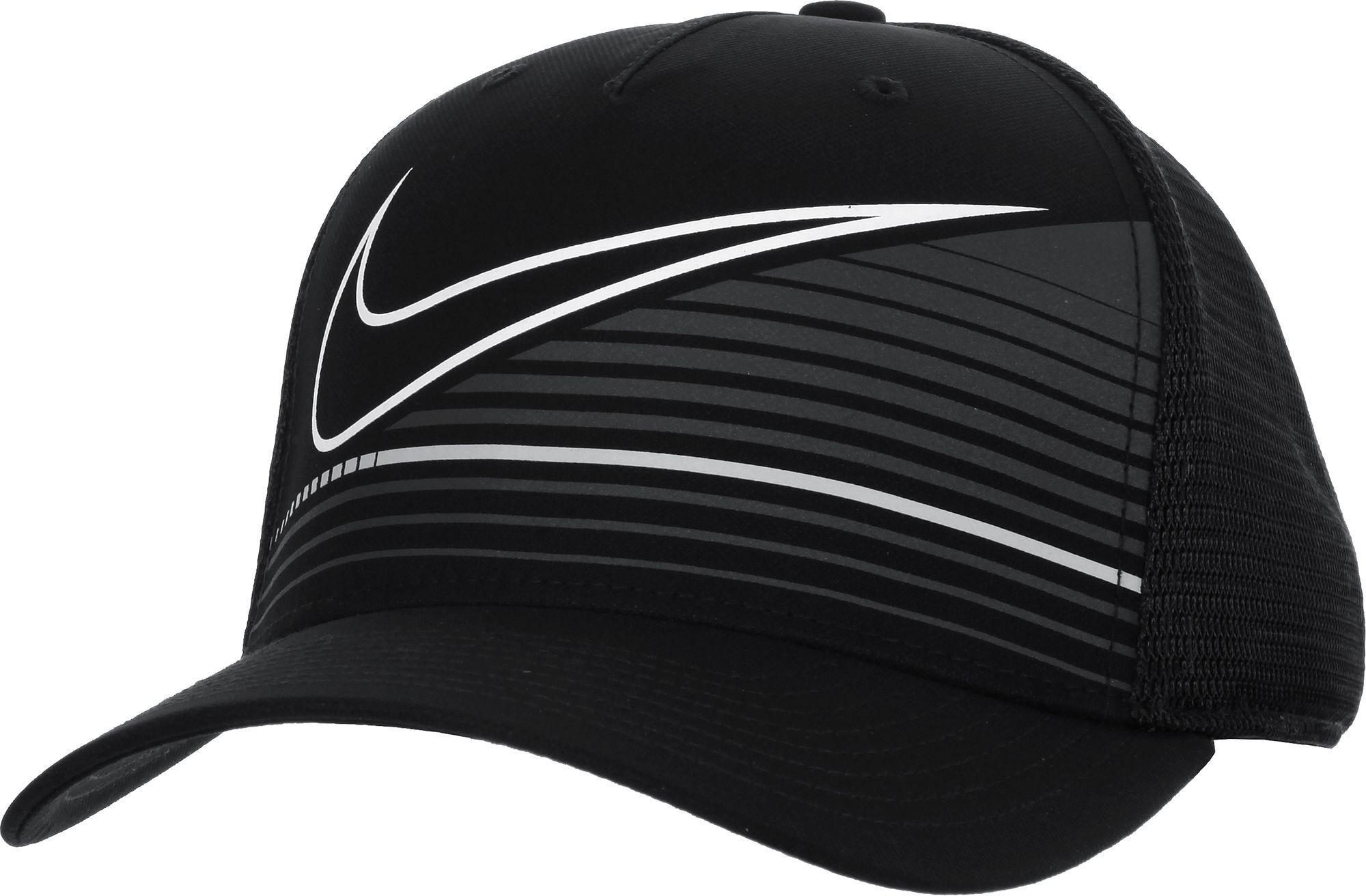Lyst - Nike Classic99 Print Golf Hat in Black for Men 8cf19ed1cb4