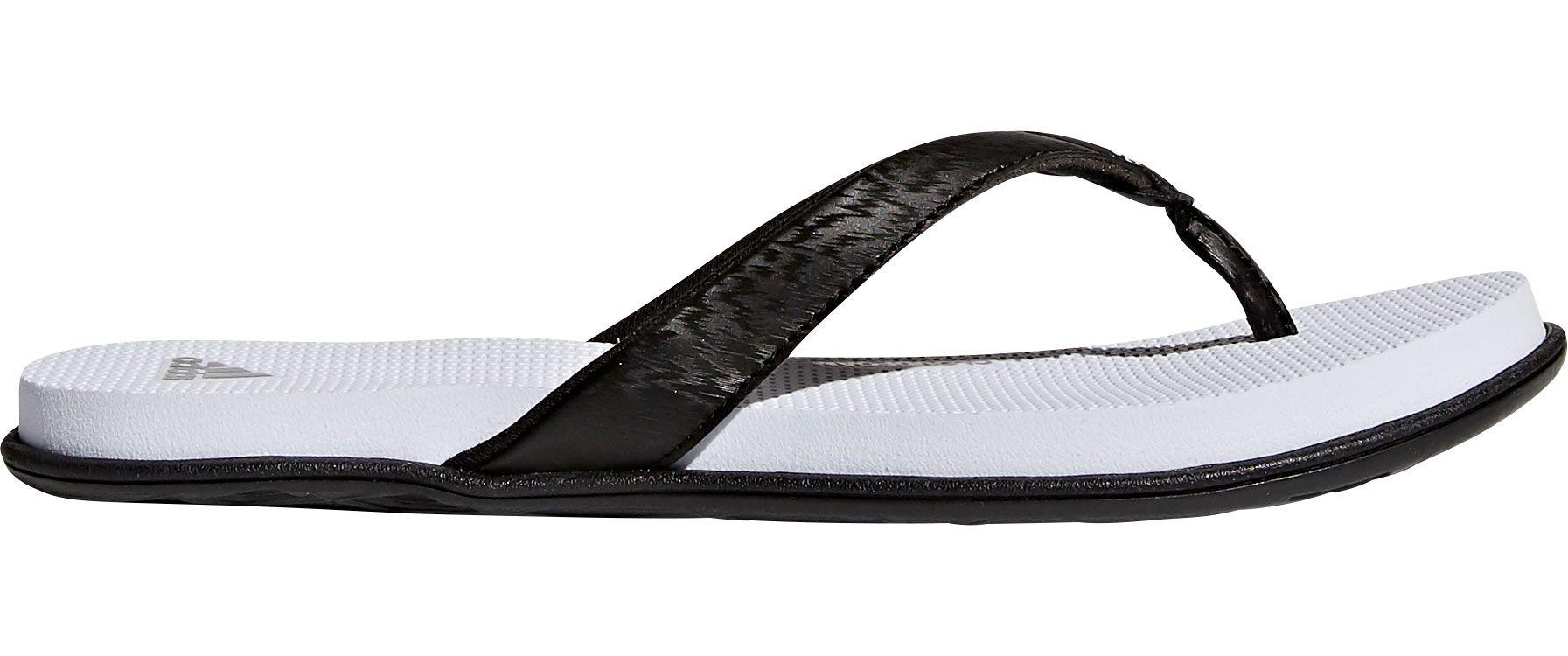 e655b41ce07395 Lyst - adidas Cloudfoam One Thong Sandals in Black