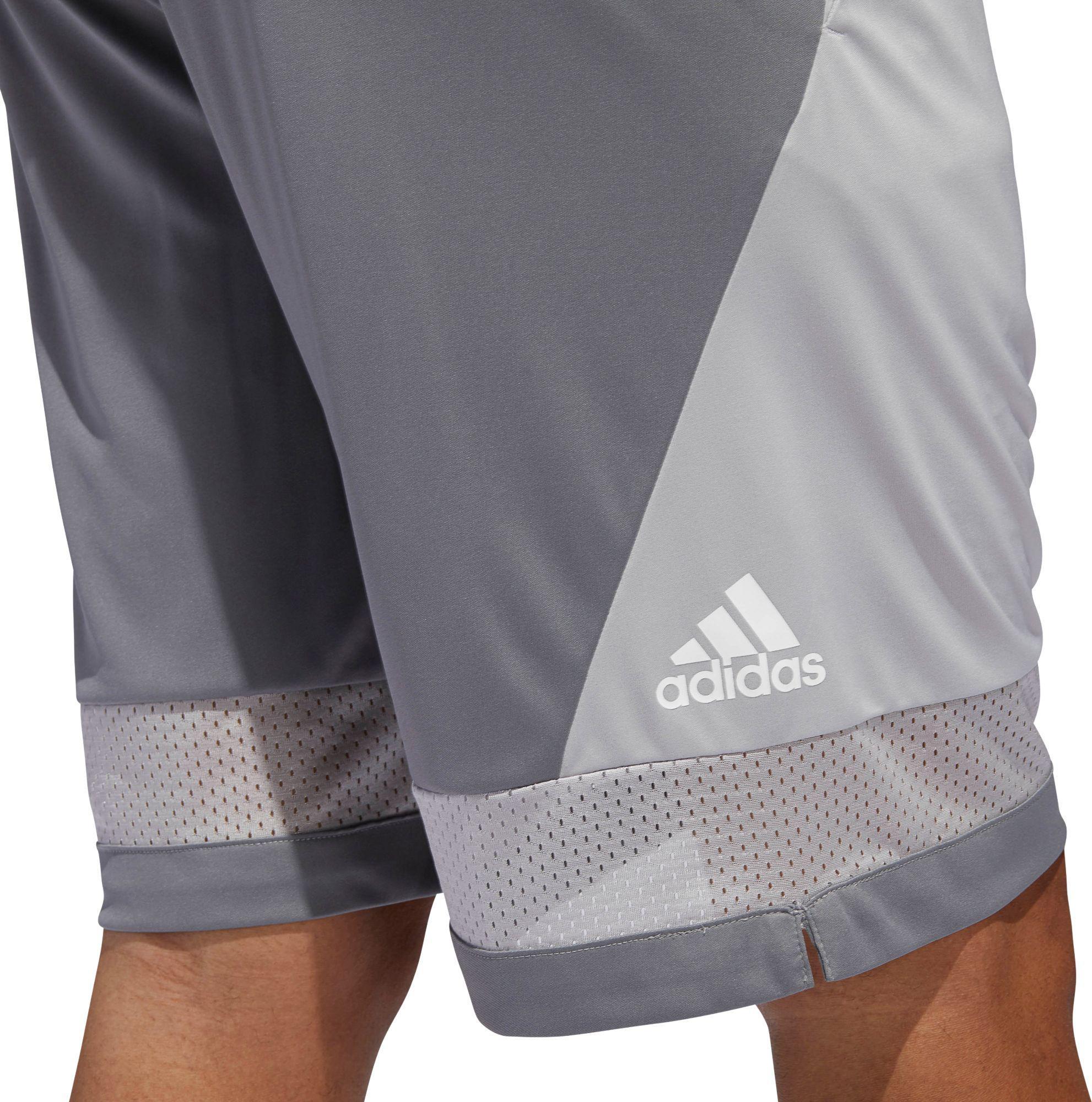 a5ae4bb03957 Adidas - Gray Pro Bounce Basketball Shorts for Men - Lyst. View fullscreen