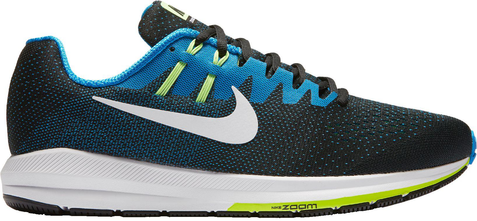 competitive price b0132 c43b4 Lyst - Nike Air Zoom Structure 20 Running Shoes in Blue for Men
