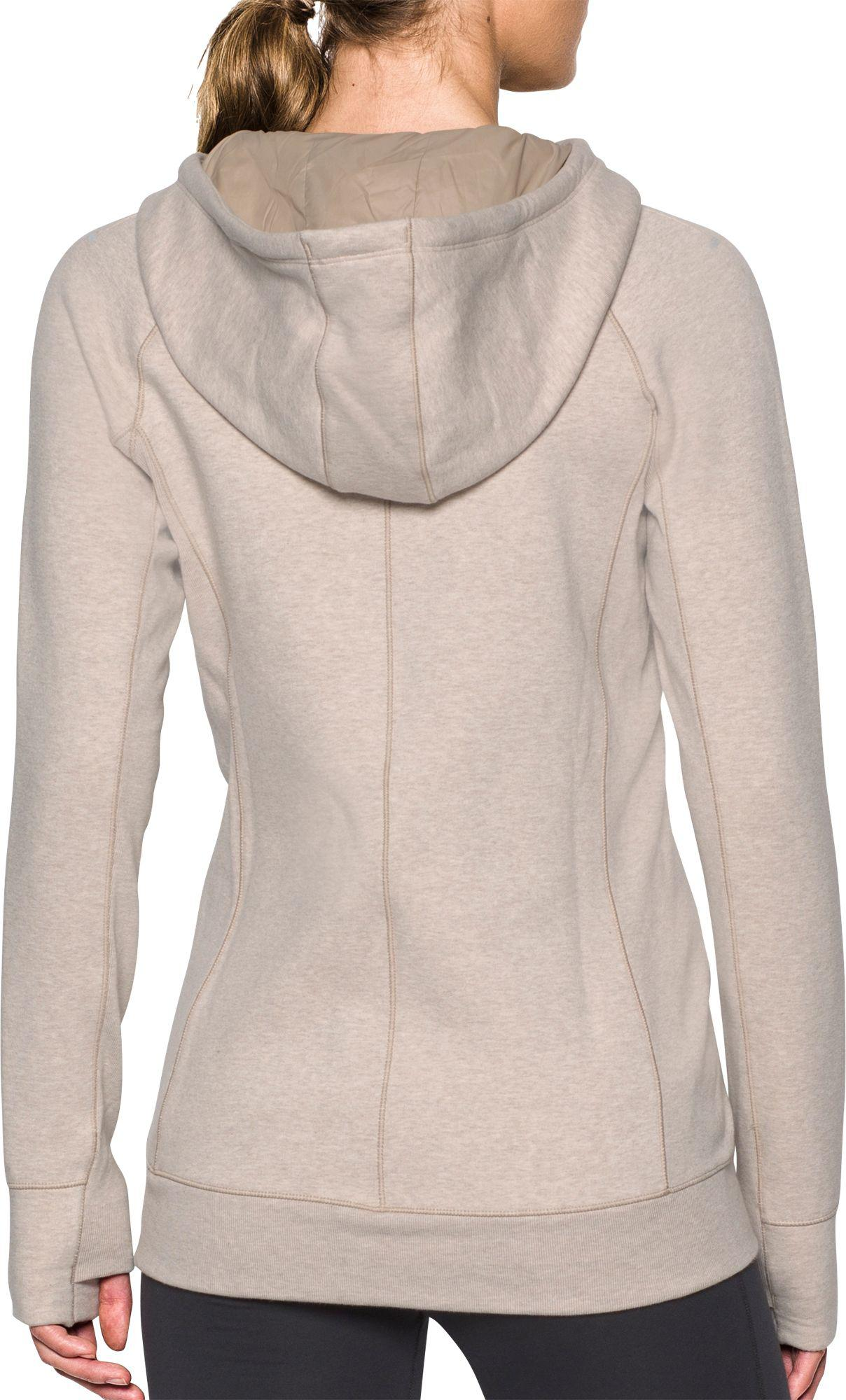 5194afb73e7a Lyst - Under Armour Varsity Fleece Full-zip Hoodie