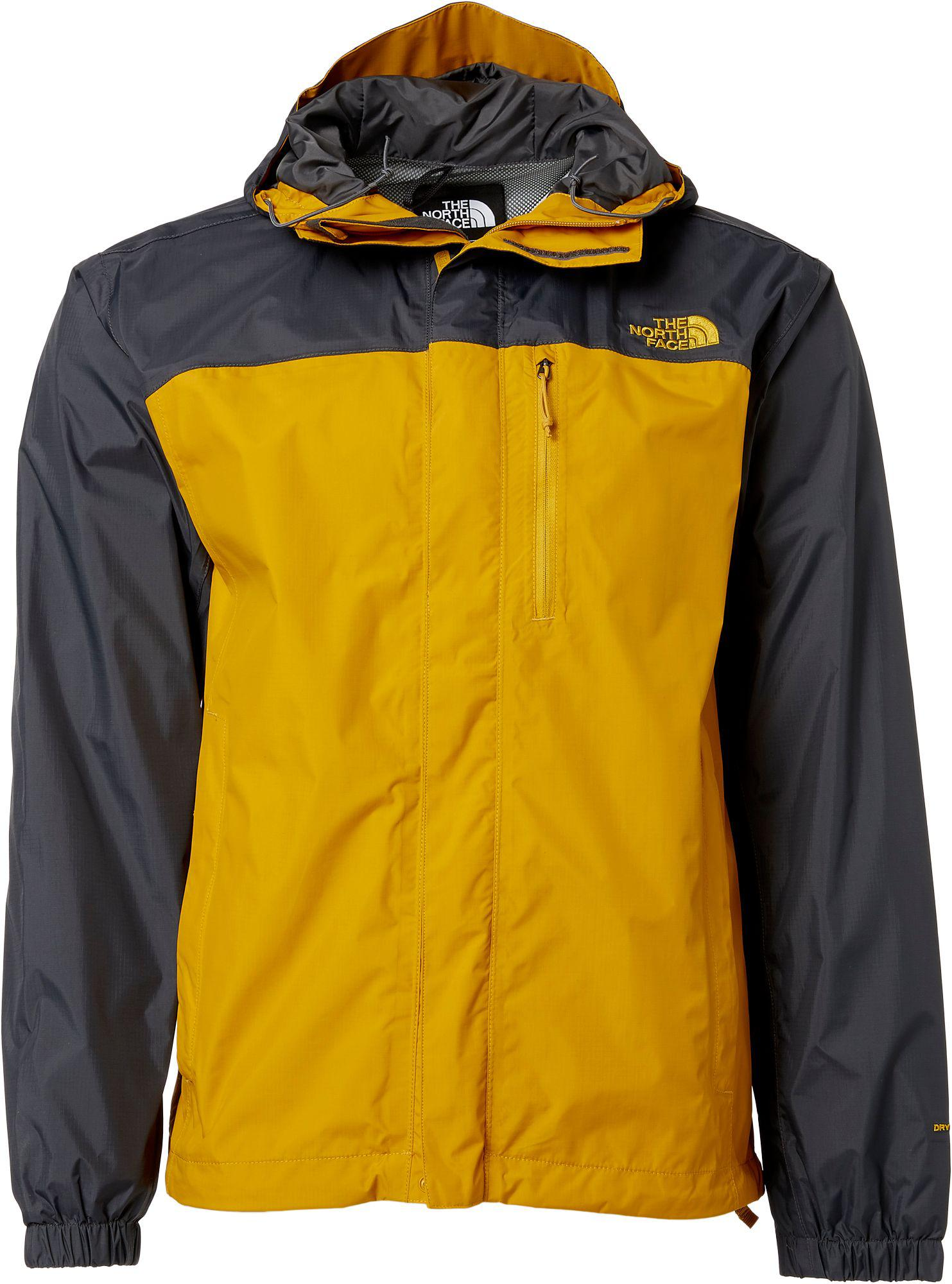 f4c1c6a0b inexpensive north face jacket mens yellow dcb9b 73151