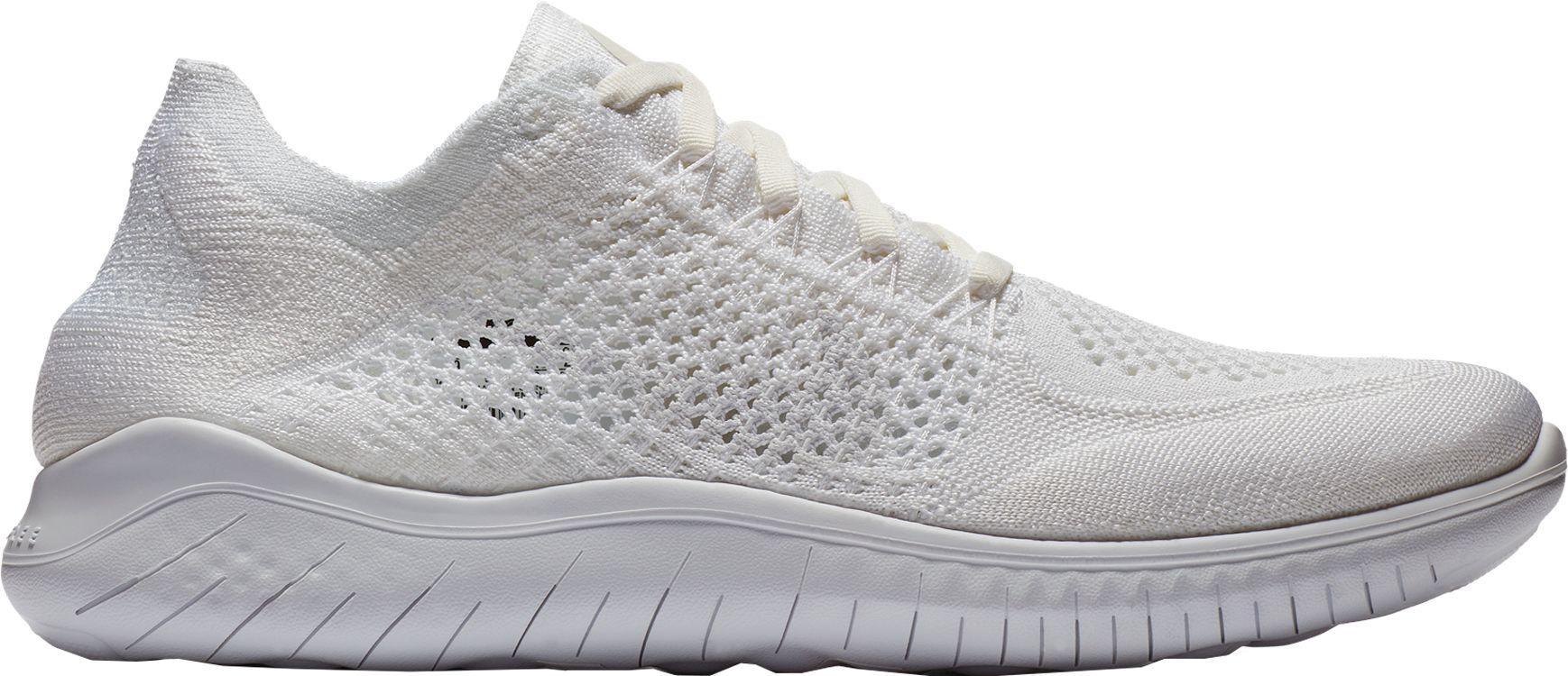 ba1545ffadb5 Lyst - Nike Free Rn Flyknit 2018 Running Shoes in White for Men