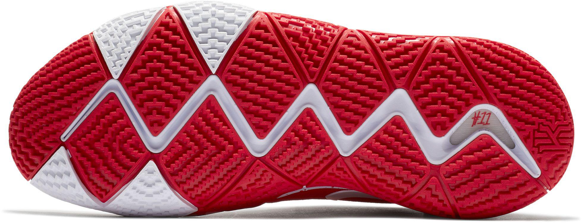 first rate dde60 4b605 Men's Red Kyrie 4 Tb Basketball Shoes