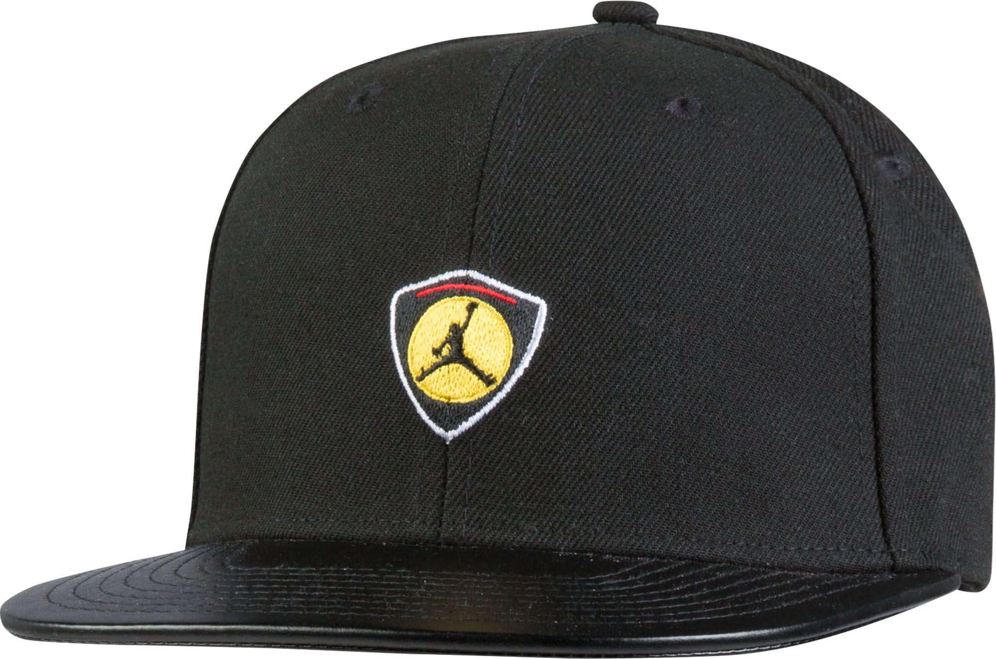 8a16fe9f3343bc ... best price lyst nike oys retro 14 snapback hat in black for men 2a377  321d8