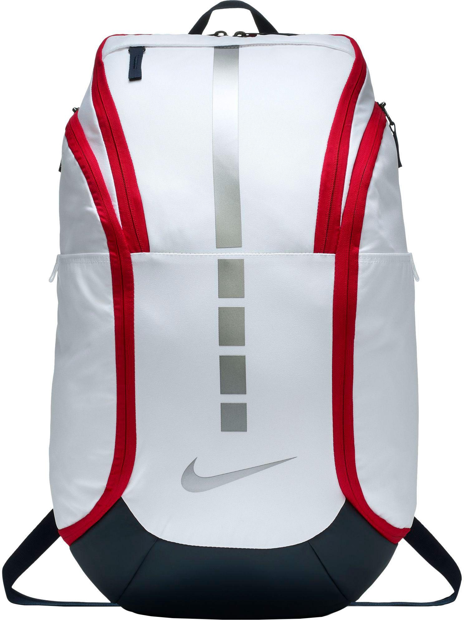Lyst - Nike Hoops Elite Pro Basketball Backpack in White for Men cc1332e1be7ed