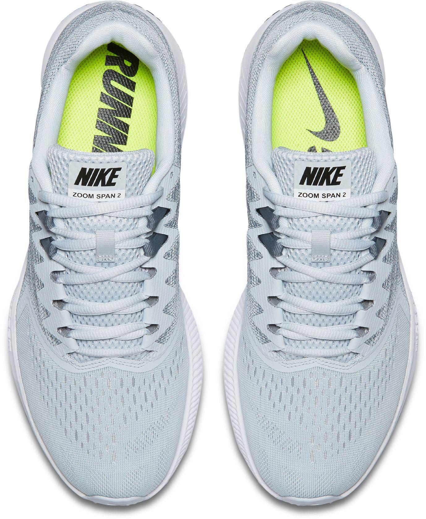 dfdd89f2dd5 Lyst - Nike Air Zoom Span 2 Running Shoes in Metallic for Men