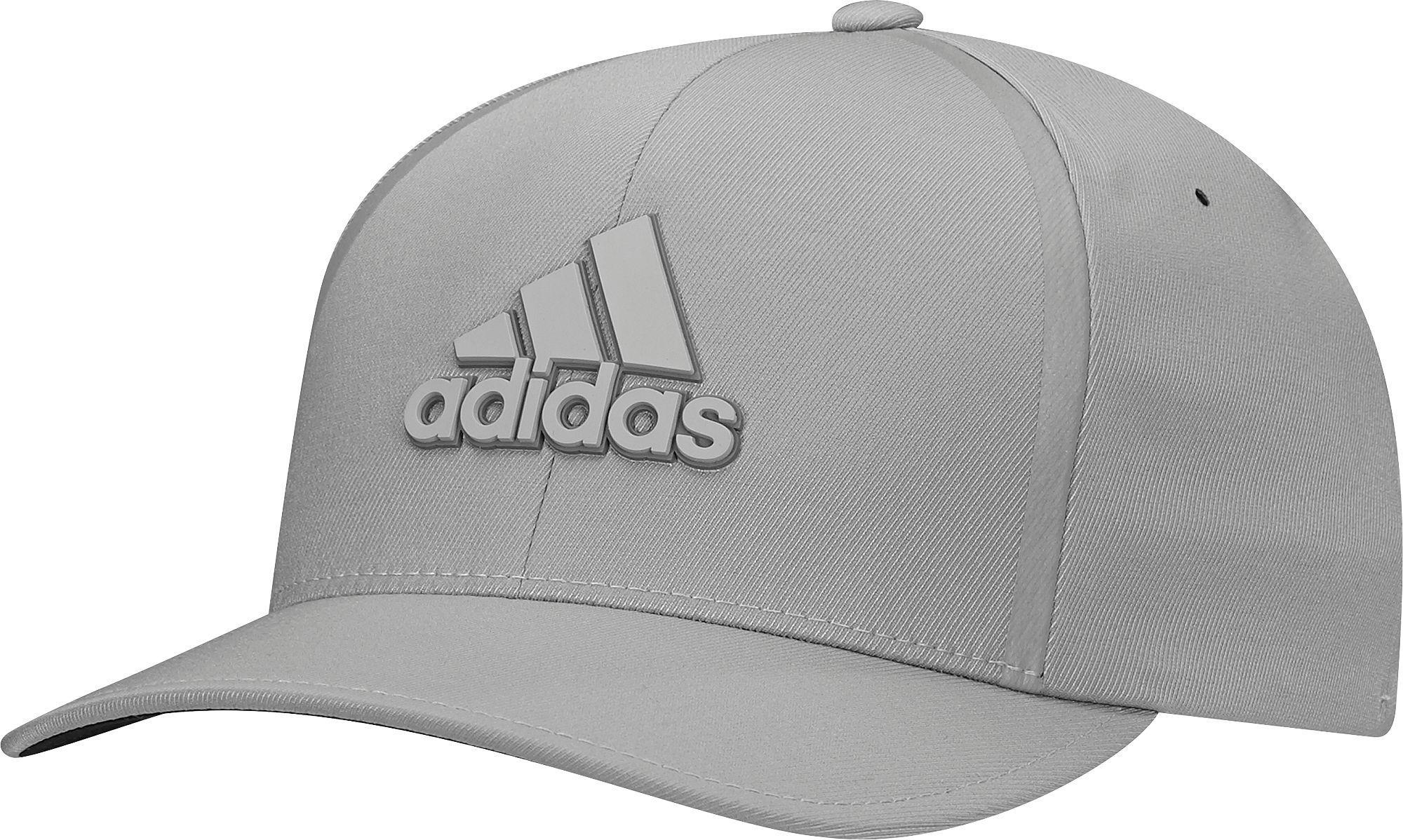 2ad4464de88 Lyst - Adidas Tour Delta Textured Golf Hat in Gray for Men