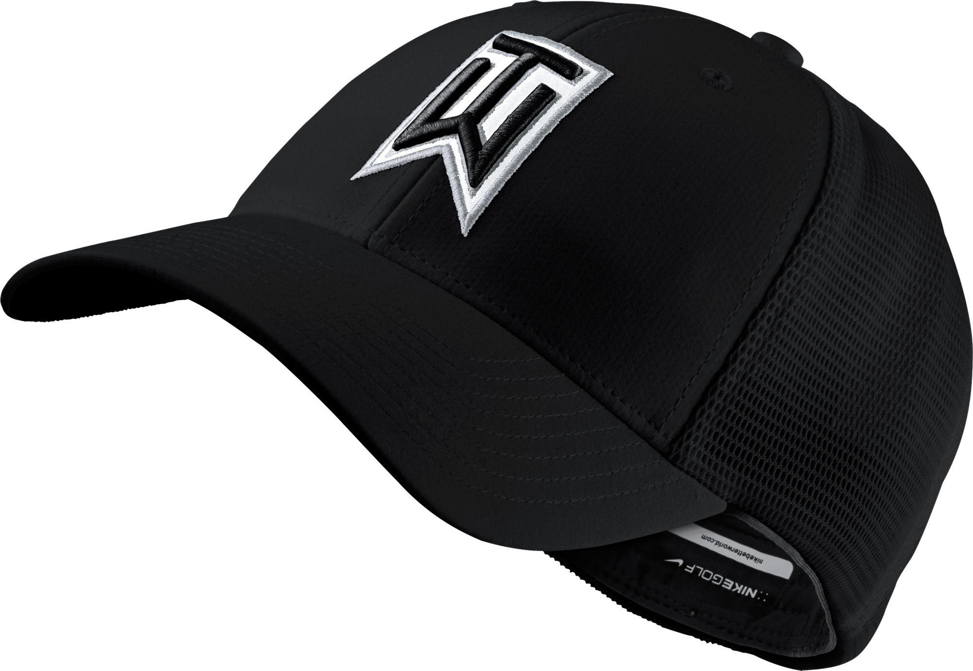Lyst - Nike Tiger Woods Legacy91 Tour Mesh Golf Hat in Black for Men 7dcd5e18a76