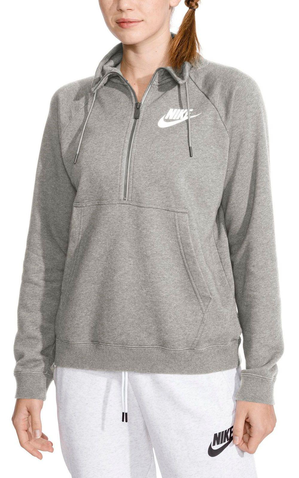 df19e2d6c9d0 Lyst - Nike Sportswear Rally Half-zip Sweatshirt in Gray