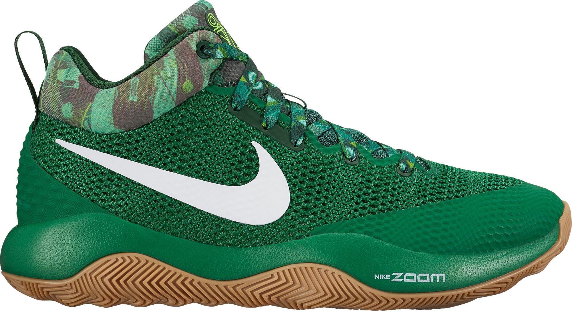 d5425b7af601 Lyst - Nike Zoom Rev 2017 Basketball Shoes in Green for Men