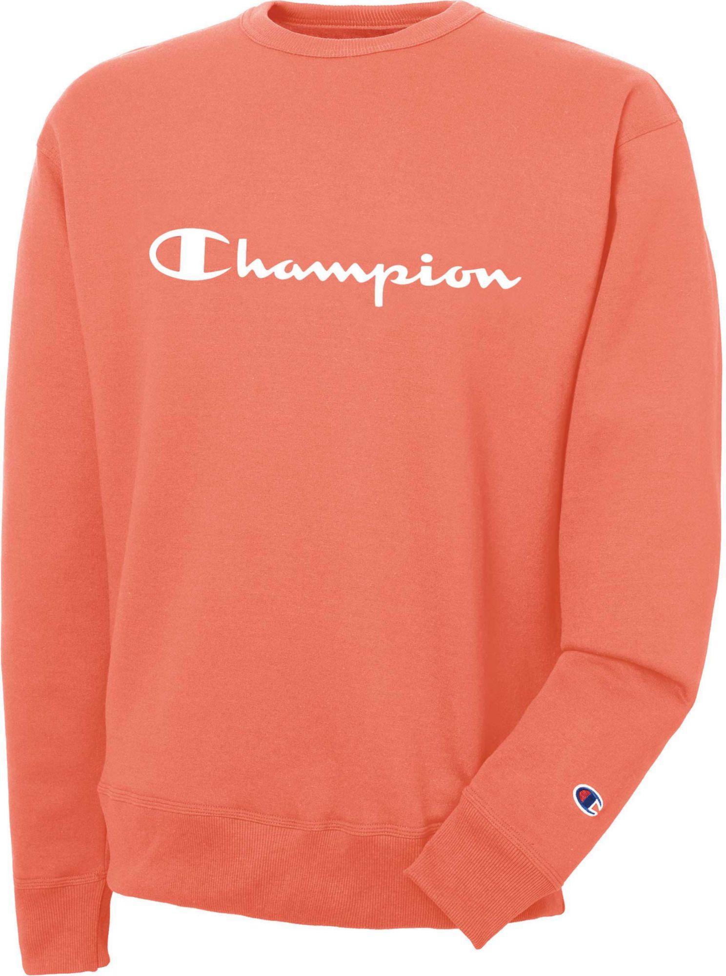 4c5a4628a Champion - Orange Lend Script Graphic Pullover for Men - Lyst. View  fullscreen