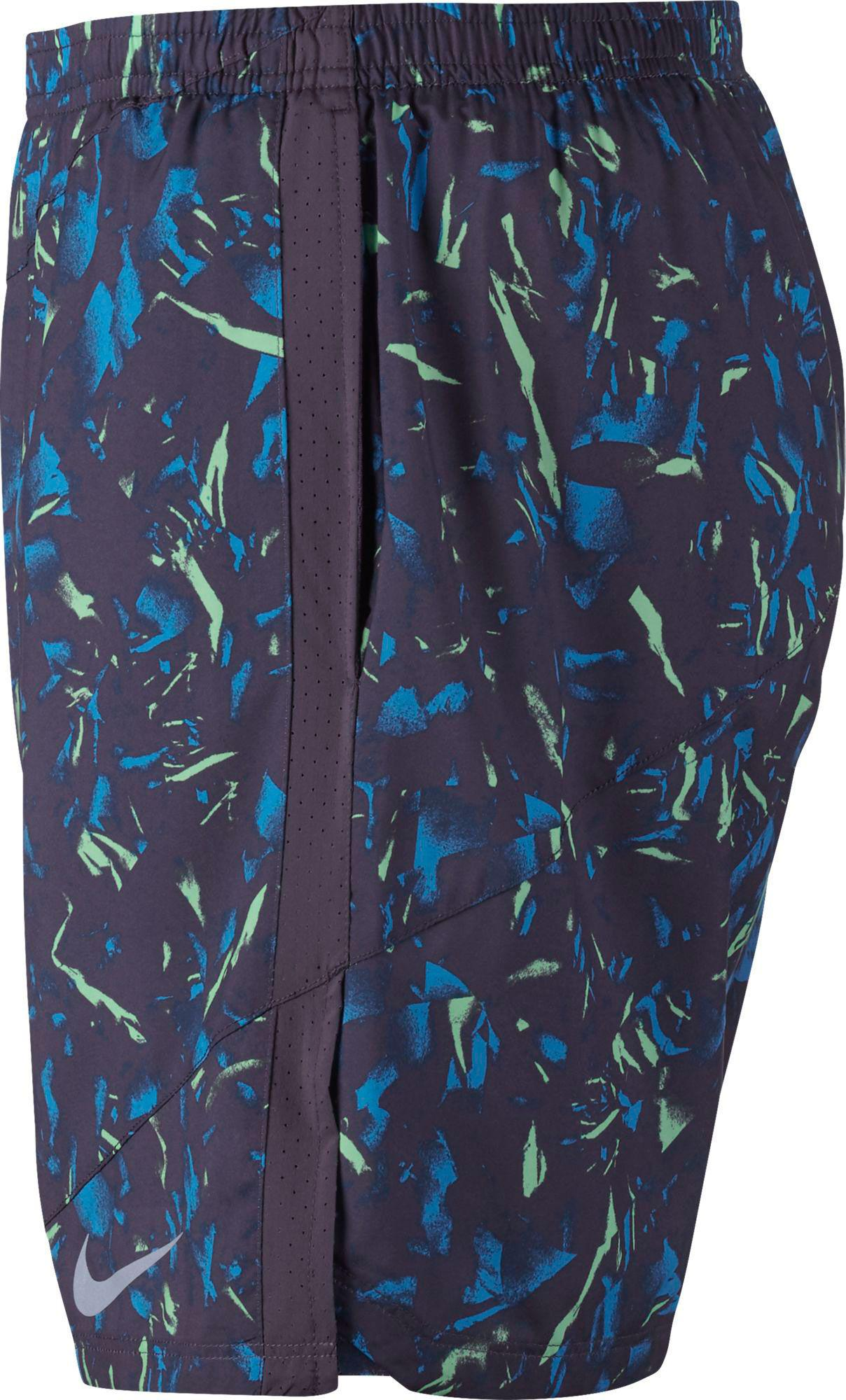 c0a2402bcf41 Nike 7'' Flex Distance Printed Running Shorts in Blue for Men - Lyst