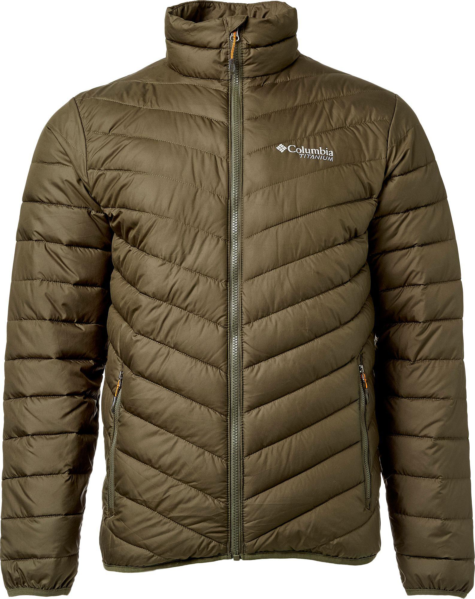 Columbia Synthetic Titanium Valley Ridge Jacket in Green ...