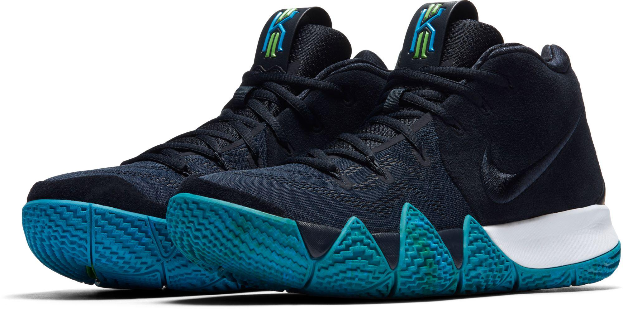 wholesale dealer 2eafd d4739 Nike Blue Kyrie 4 Basketball Shoes for men