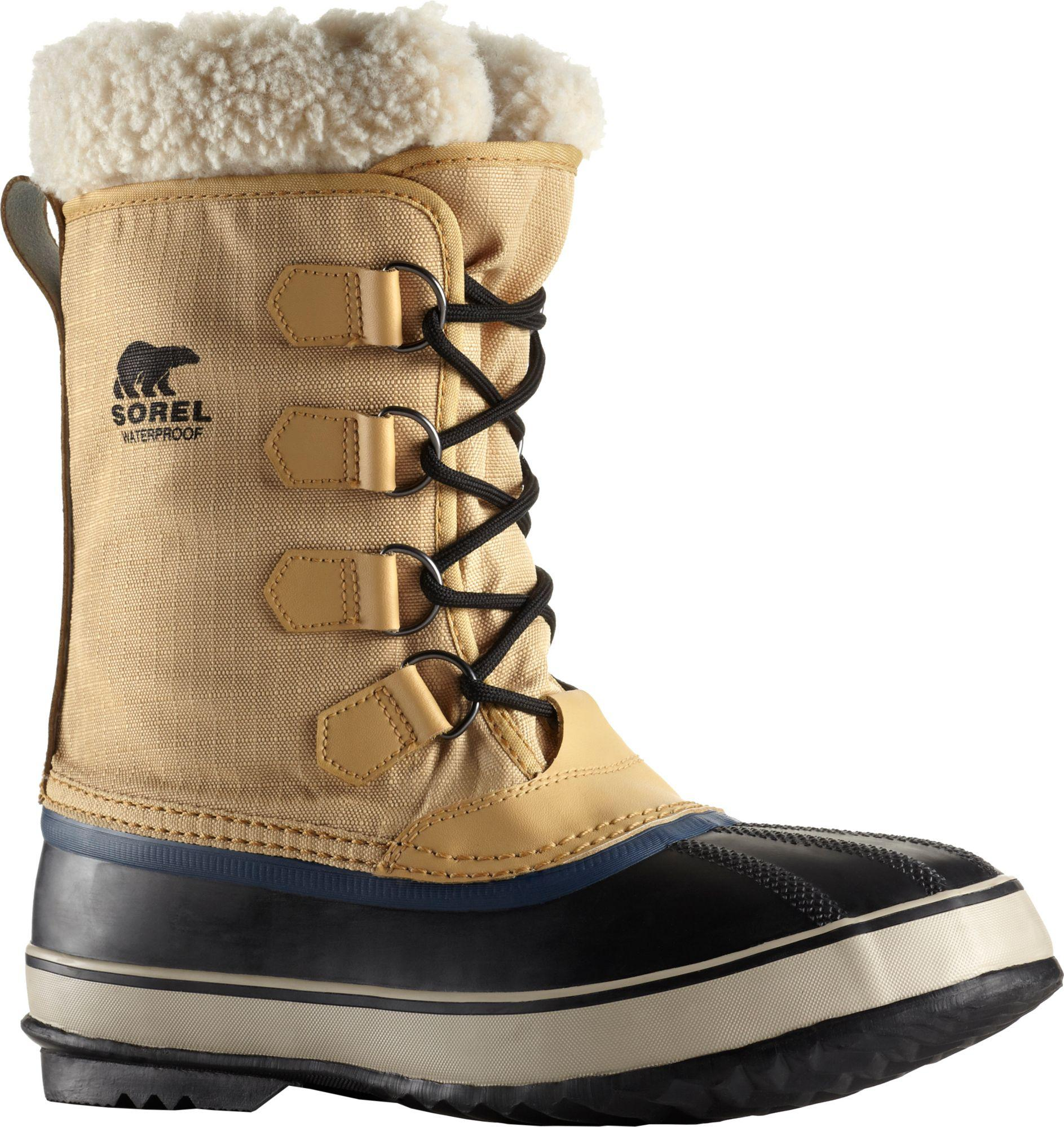 07d5798aea4 Sorel Multicolor 1964 Pac Nylon Waterproof Insulated Winter Boots for men