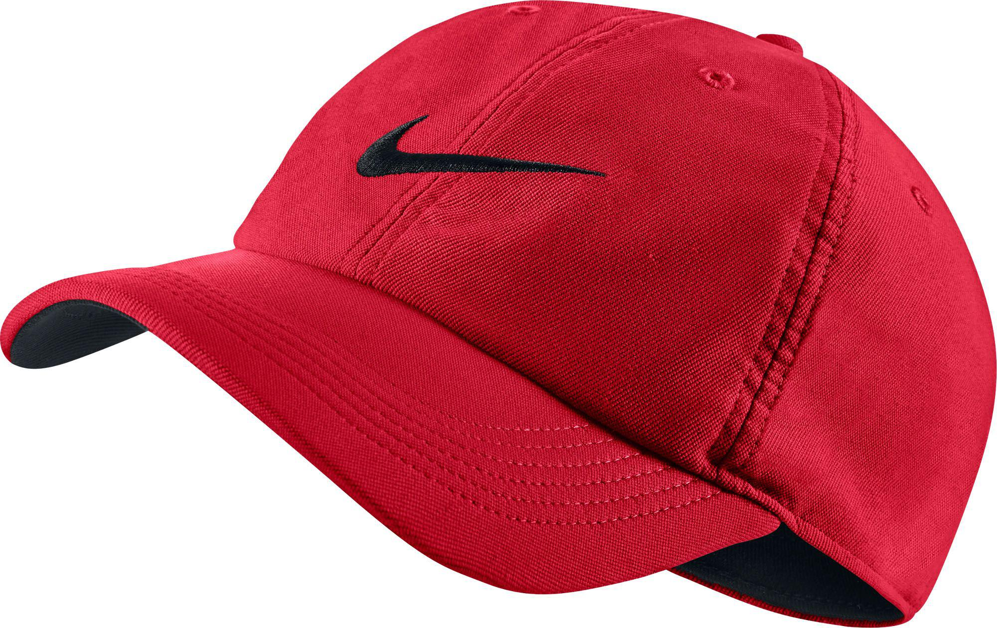 huge discount 1a4fd 647d4 Nike - Red Twill H86 Adjustable Hat for Men - Lyst