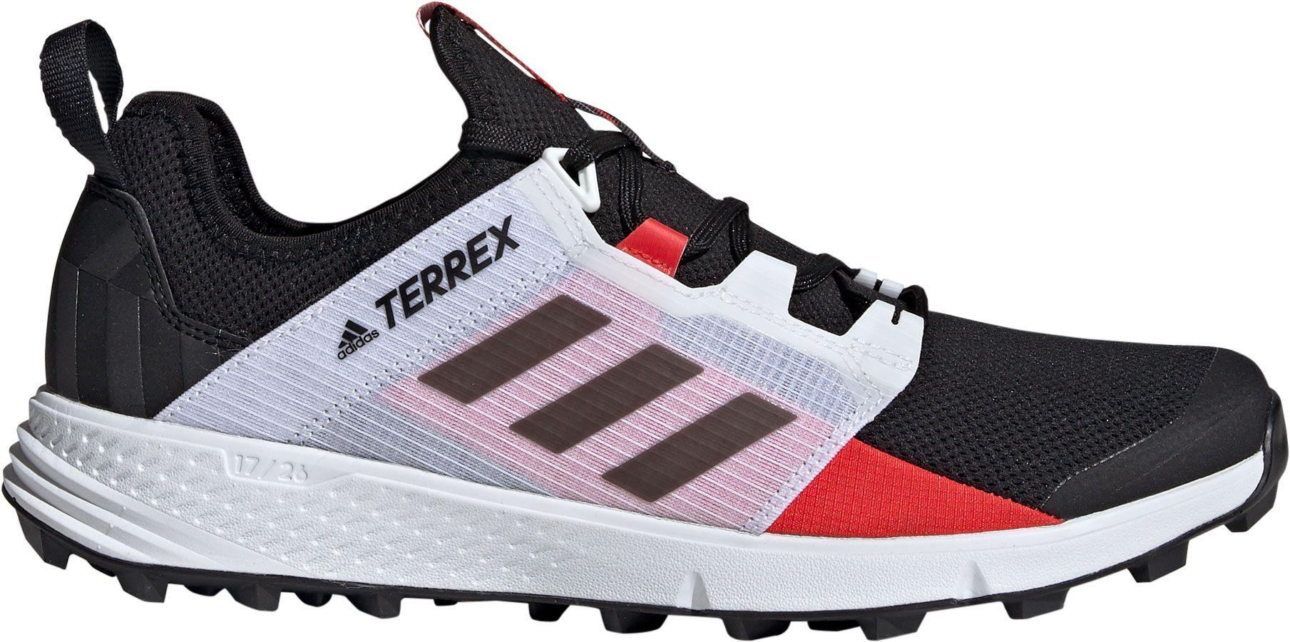 7a5b72f557f Adidas Black Terrex Agravic Speed Trail Running Shoes for men