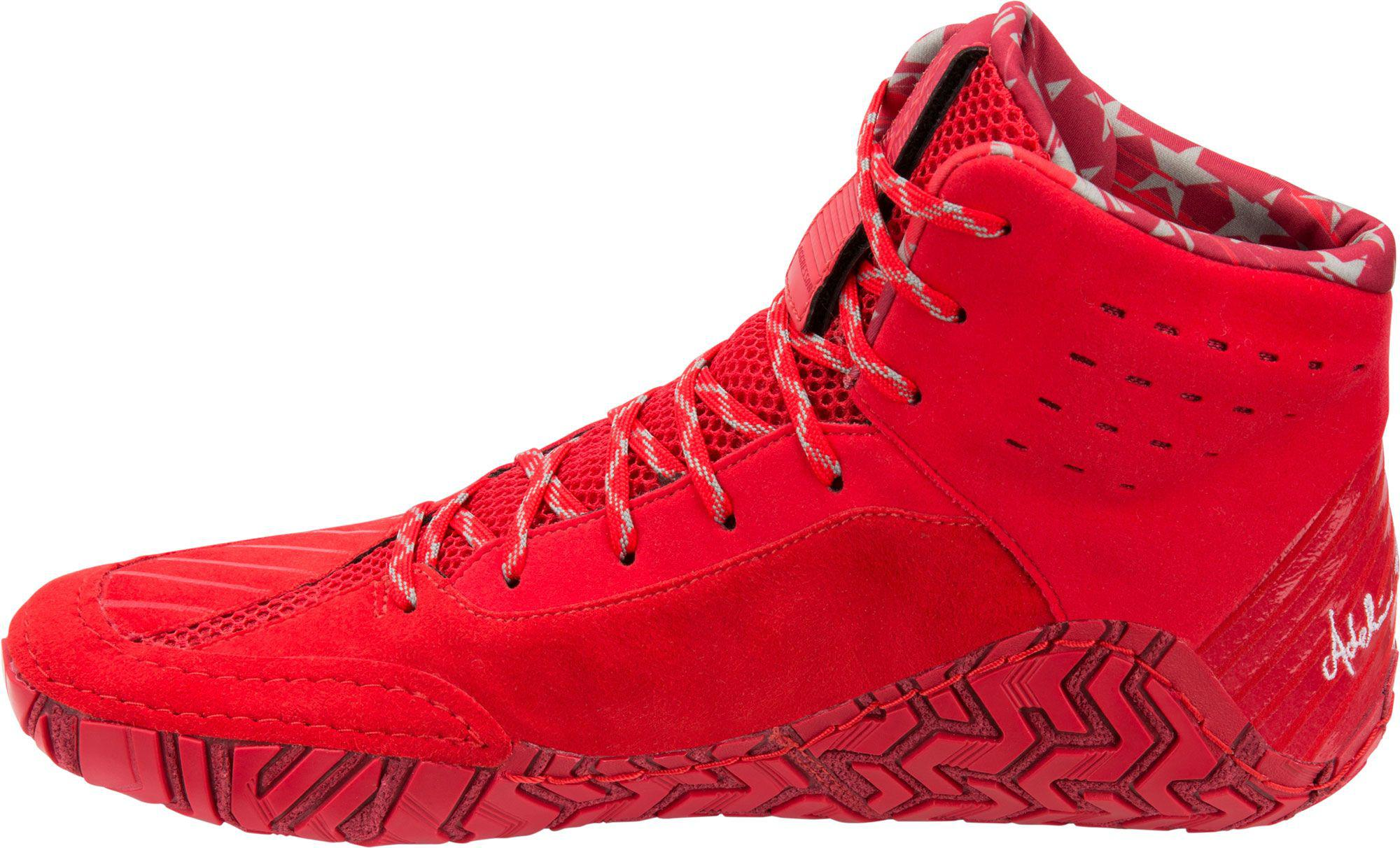 Aggressor 4 Le Full Sole Shoes in Red