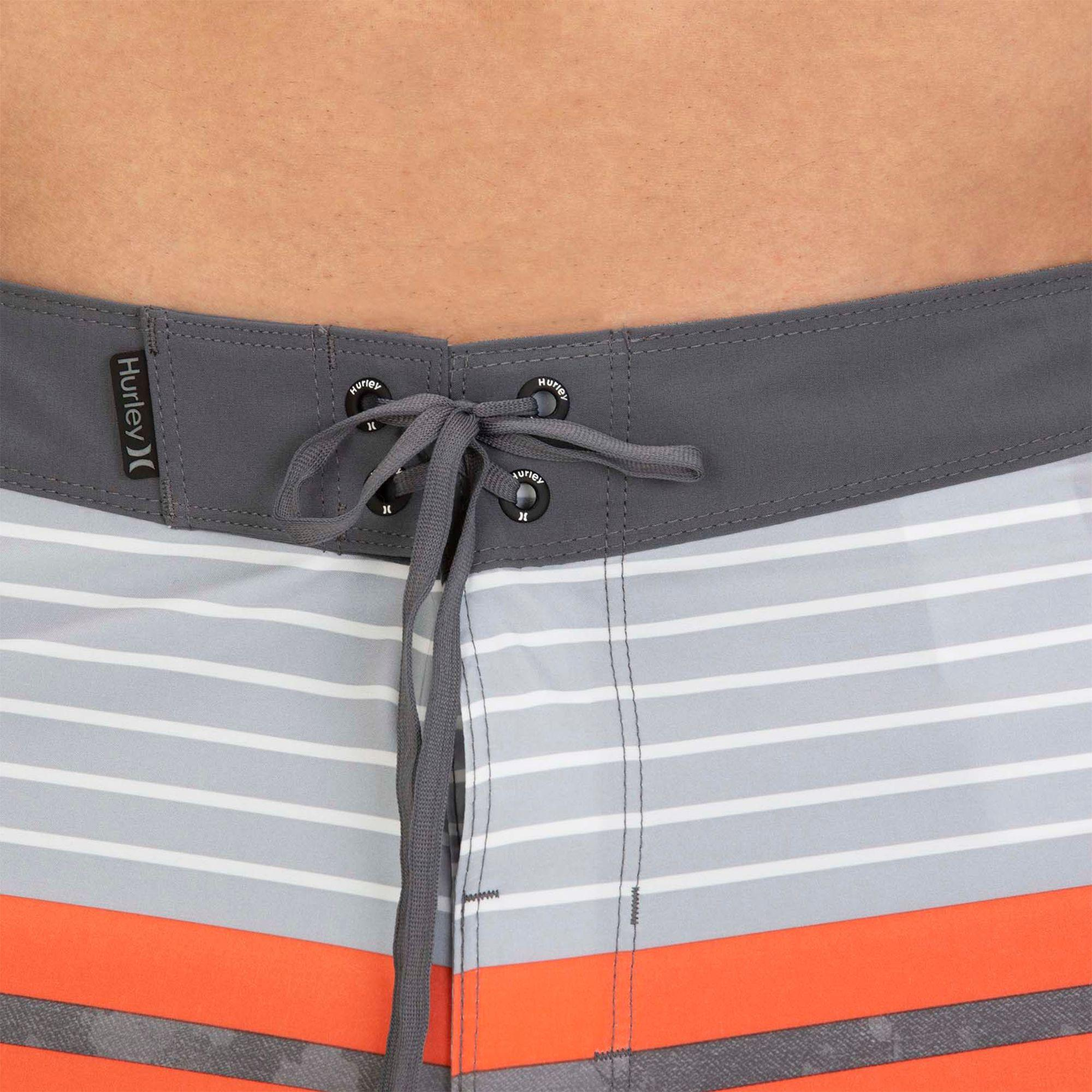 ff39b808d6 Hurley Phantom Aloha Stripe Board Shorts in Gray for Men - Lyst