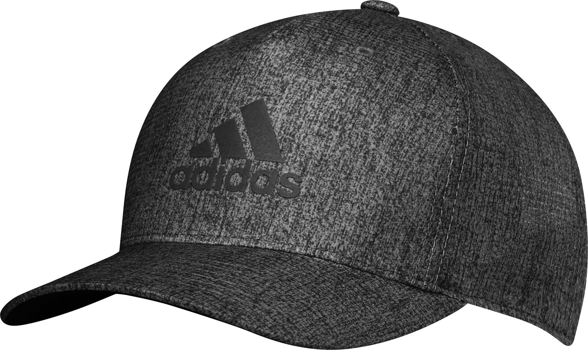 Lyst - adidas Heathered Snapback Golf Hat in Black for Men e035b7d89ea5