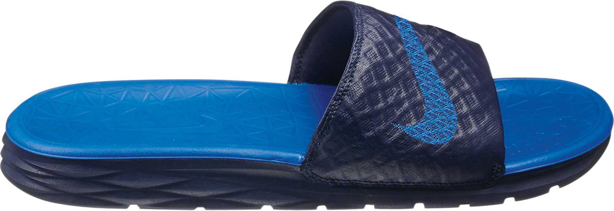 99d0c008175 Lyst - Nike Enassi Solarsoft 2 Slides in Blue for Men