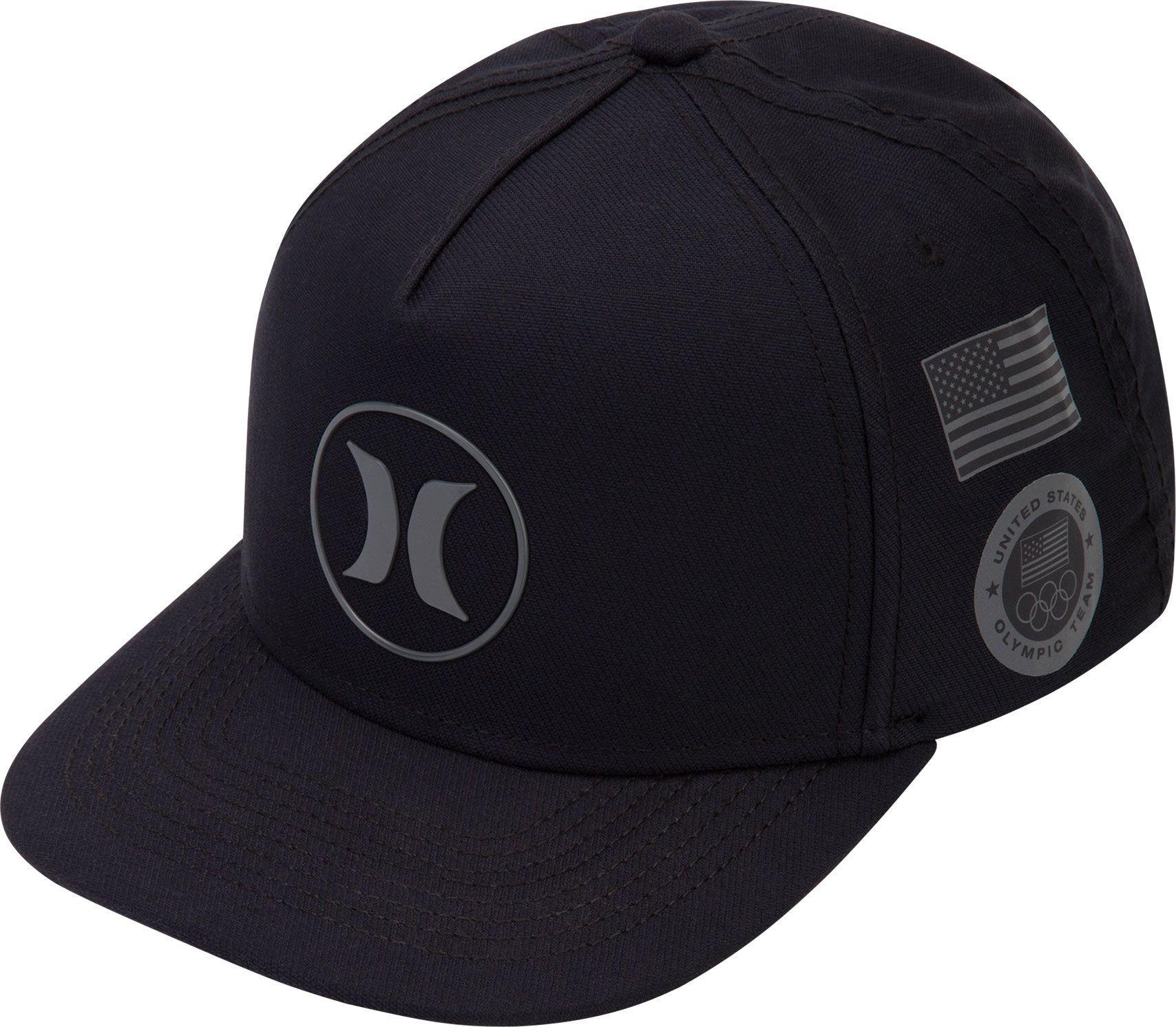info for 56dfc ac8b0 Hurley Dri-fit Us Team Snapback Trucker Hat in Black for Men - Lyst
