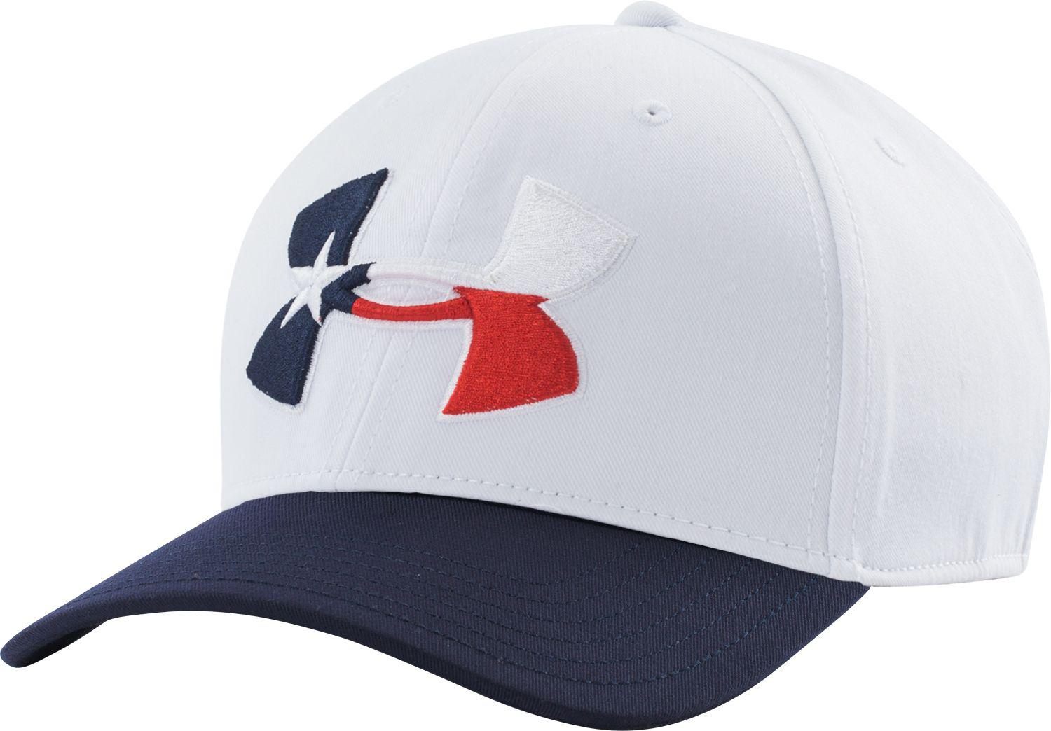 Lyst - Under Armour Texas Flag Big Logo Low Crown Hat in Blue for Men ae8ed427342