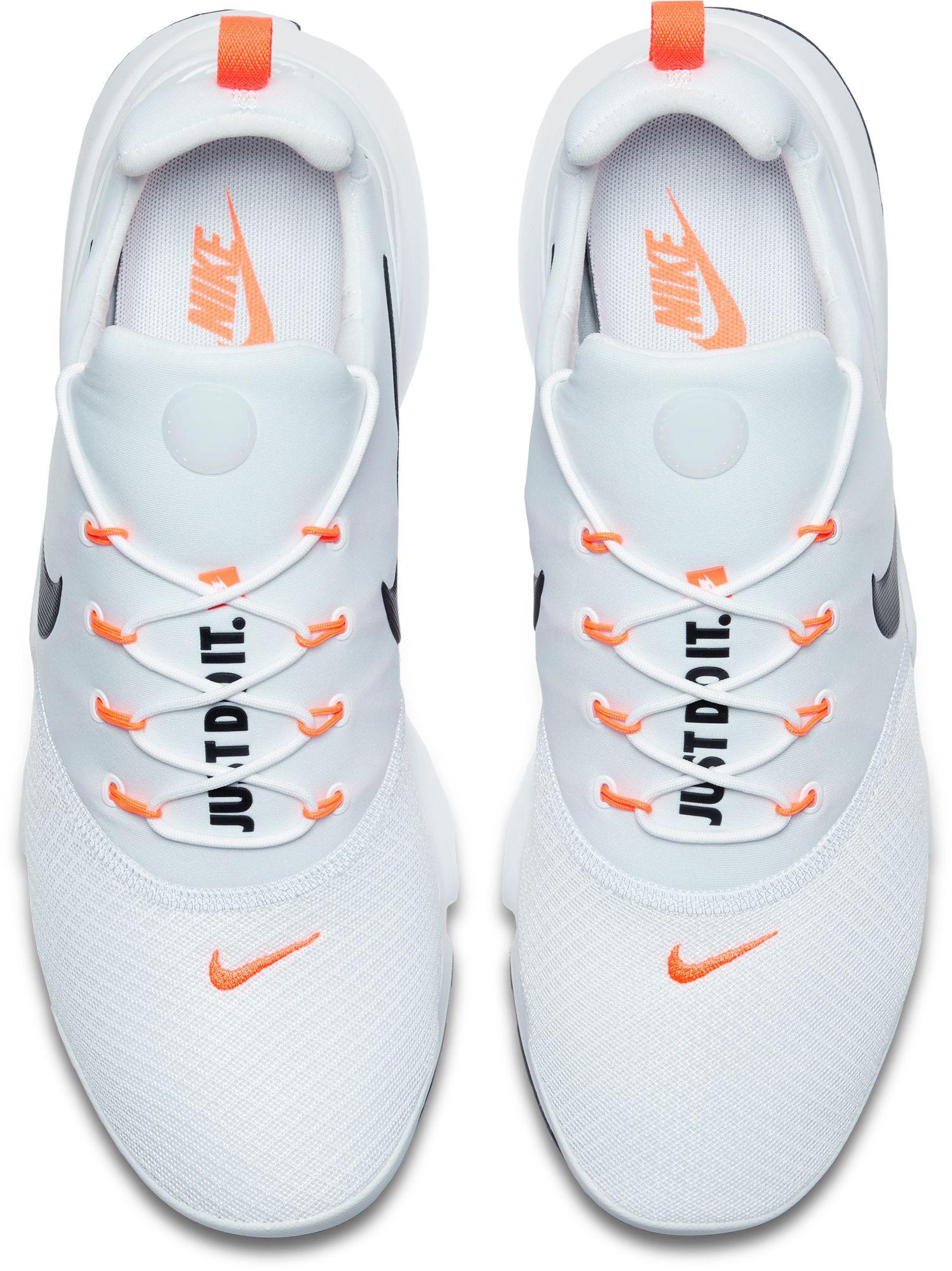 Precioso me quejo Aprendizaje  Nike Presto Fly Jdi Competition Running Shoes in White/Black (White) for  Men - Lyst