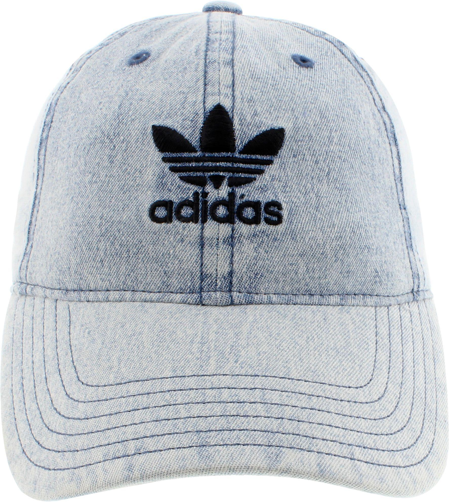 Adidas - Blue Originals Relaxed Denim Cap - Lyst. View fullscreen b1e7097c40f3