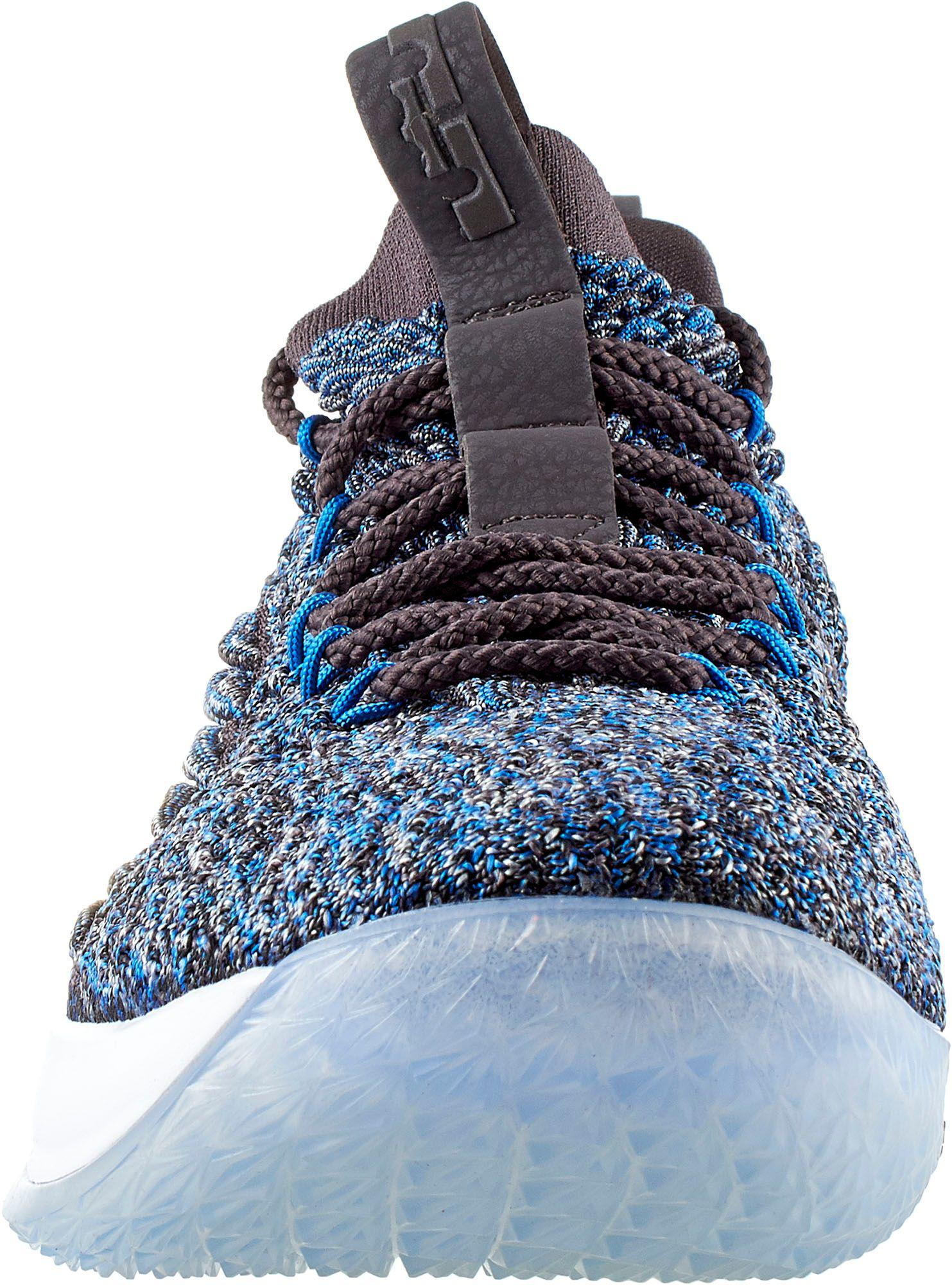 innovative design 0790e 604c5 Men's Blue Lebron 15 Low Basketball Shoes