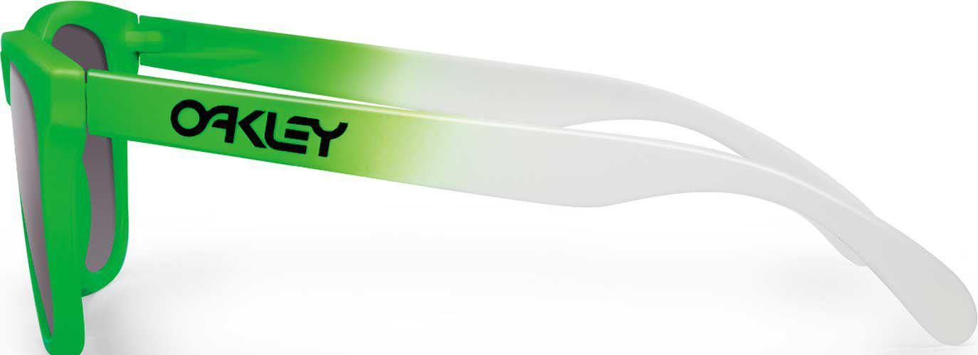 a283d9a930 Lyst - Oakley Frogskins Green Fade Prizm Polarized Sunglasses in ...
