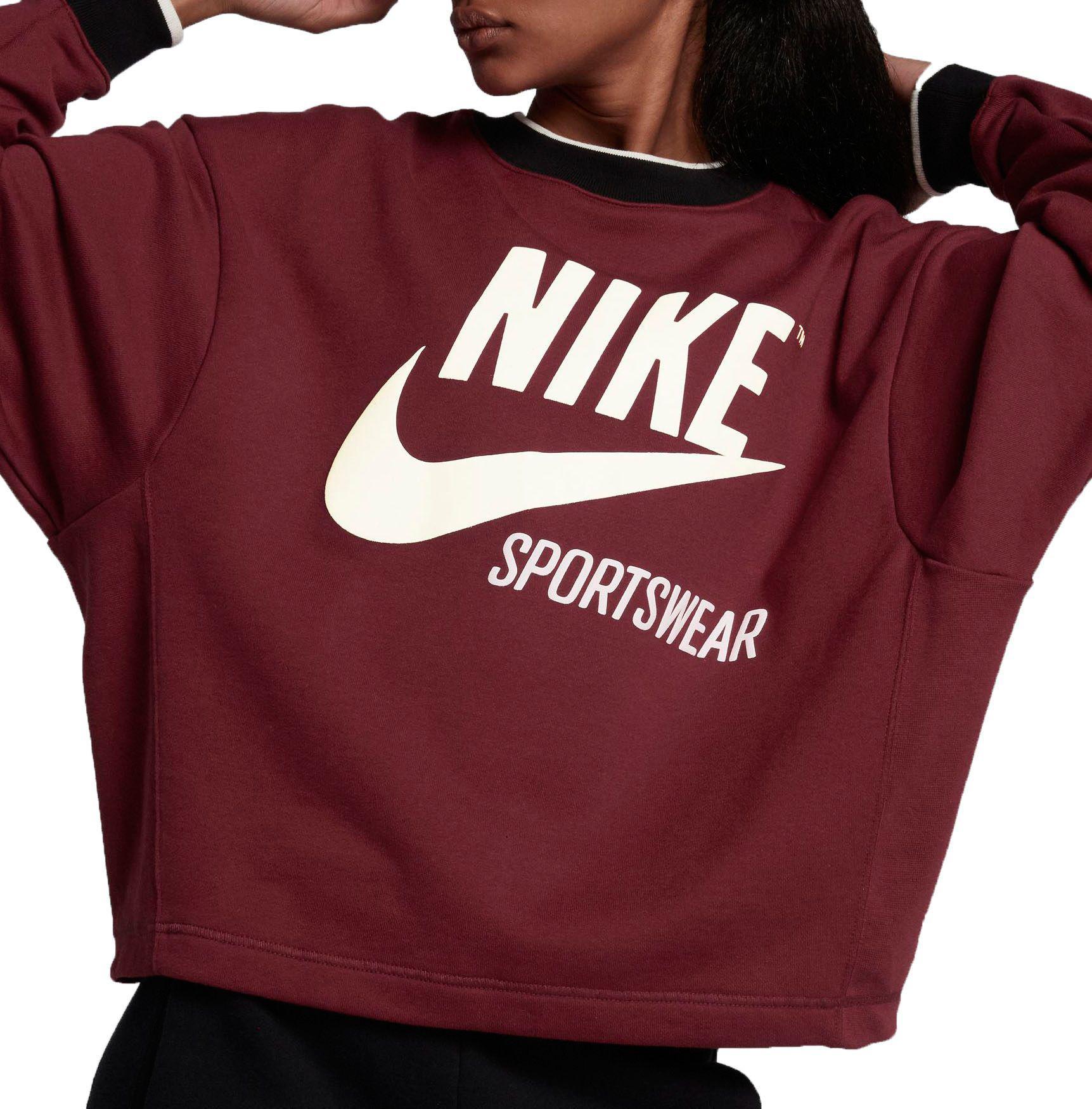 e0d90e35353 Sportswear Lyst In Red Archive Sweatshirt Nike Crewneck PP517q