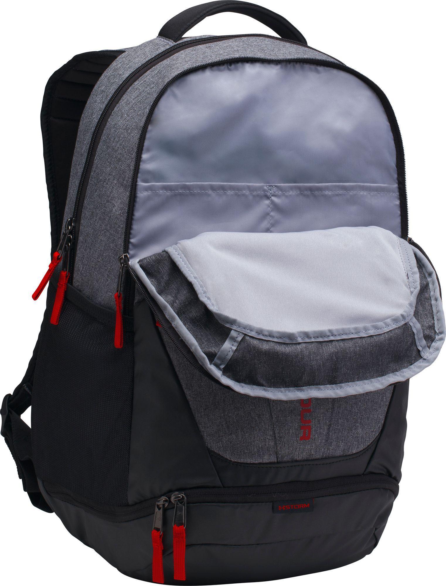 a997debd051e Lyst - Under Armour Hustle 3.0 Backpack in Black for Men