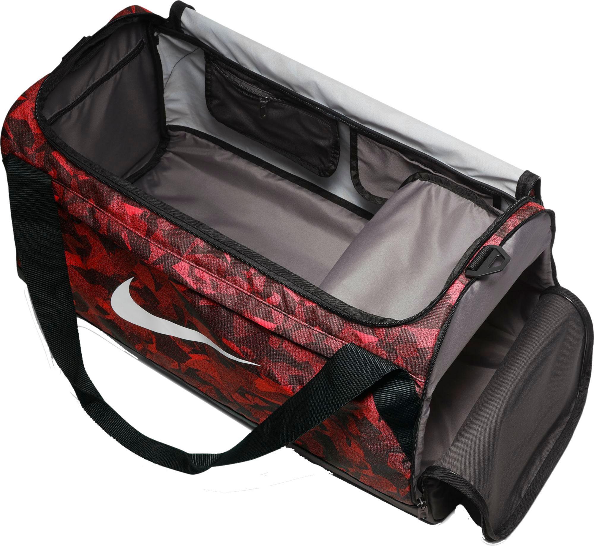 35f187682955 Nike - Red Rasilia Medium Printed Duffle Bag for Men - Lyst. View fullscreen