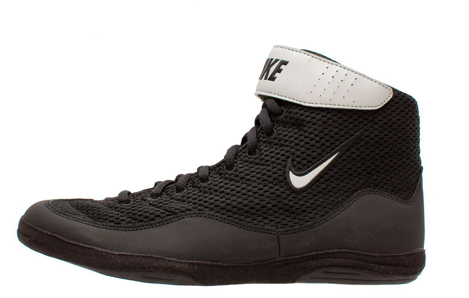 0186849e9bc705 Lyst - Nike Inflict 3 Wrestling Shoes in Black for Men
