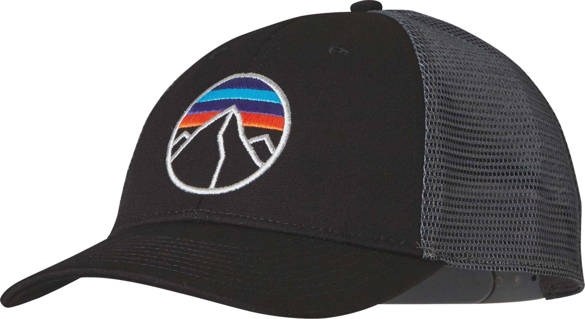 Lyst - Patagonia Fitz Roy Emblem Lopro Trucker Hat in Black for Men 5e3c8dd6aed