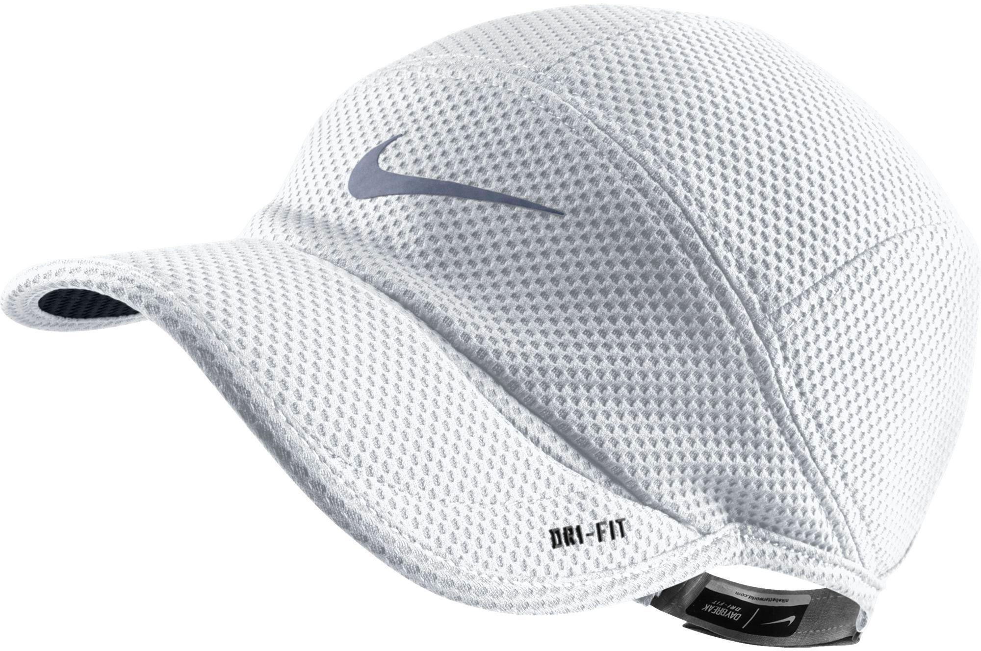 47ecf5462ff70 Nike White Mesh Daybreak Running Cap for men